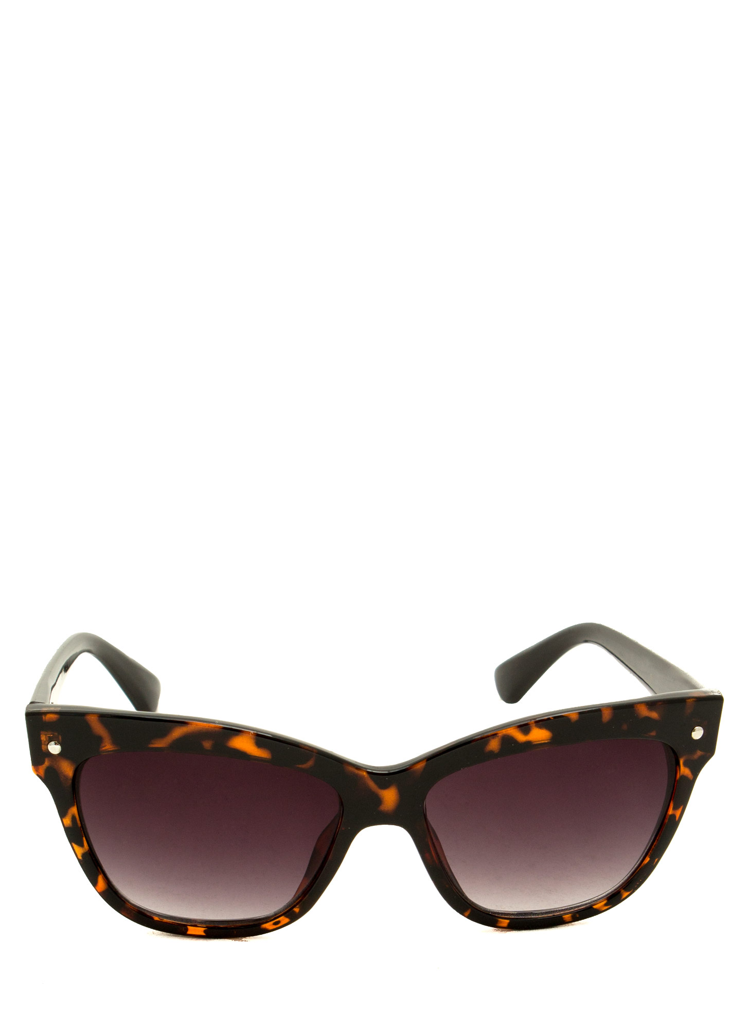 Modern Cat Eye Sunglasses DKTORTOISE