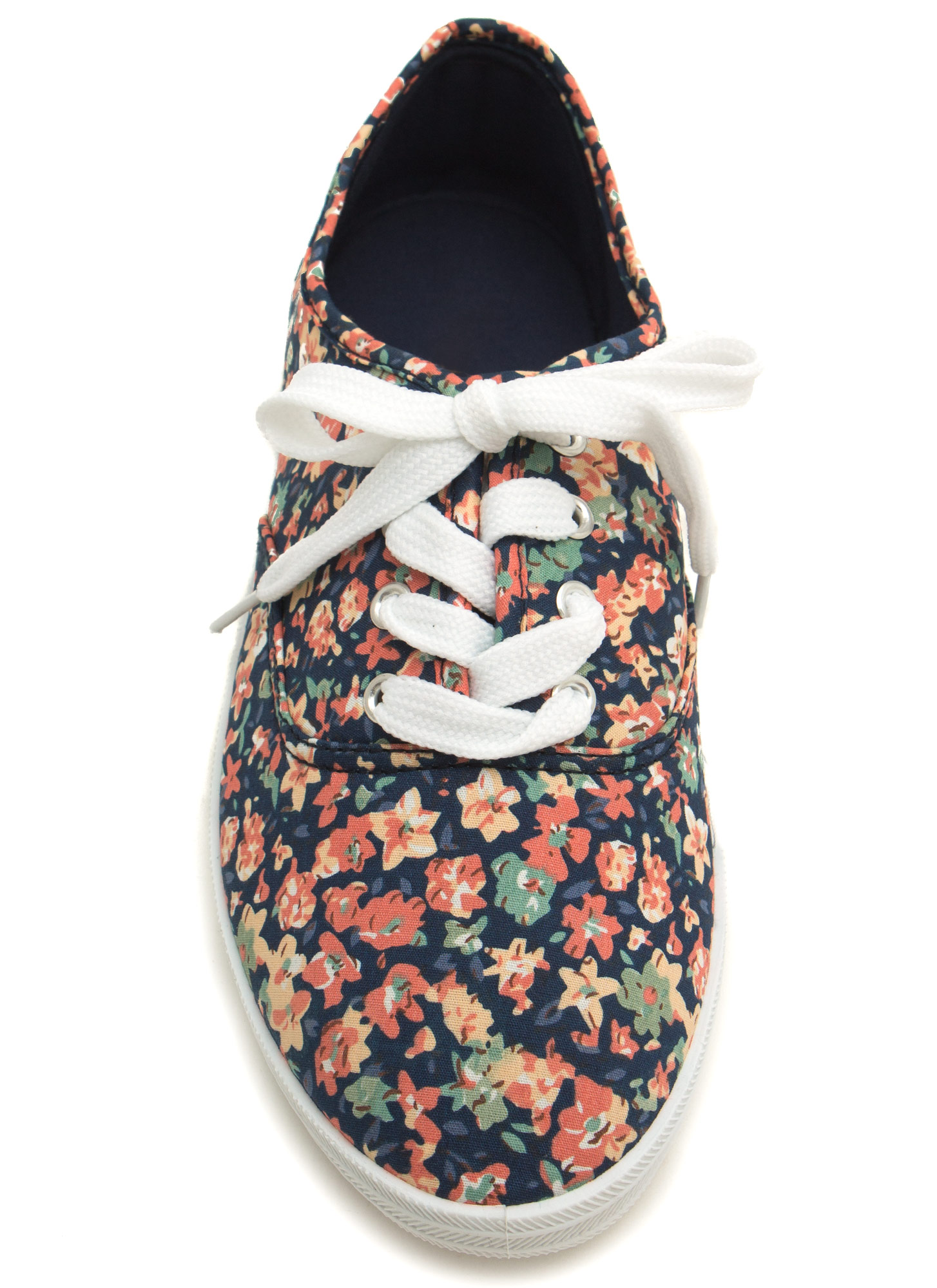 Floral Daze Lace-Up Sneakers BLUEMULTI
