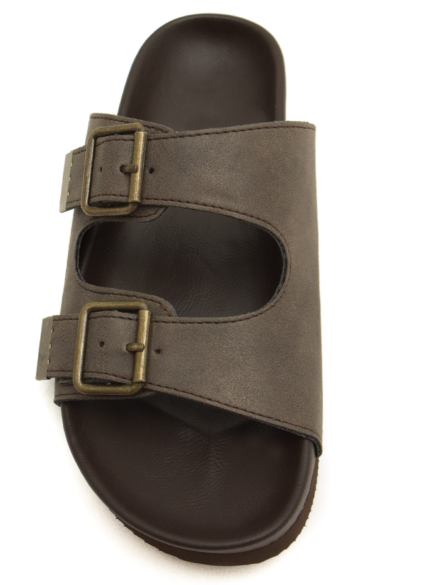 Not So Granola Slide Sandals TAUPE