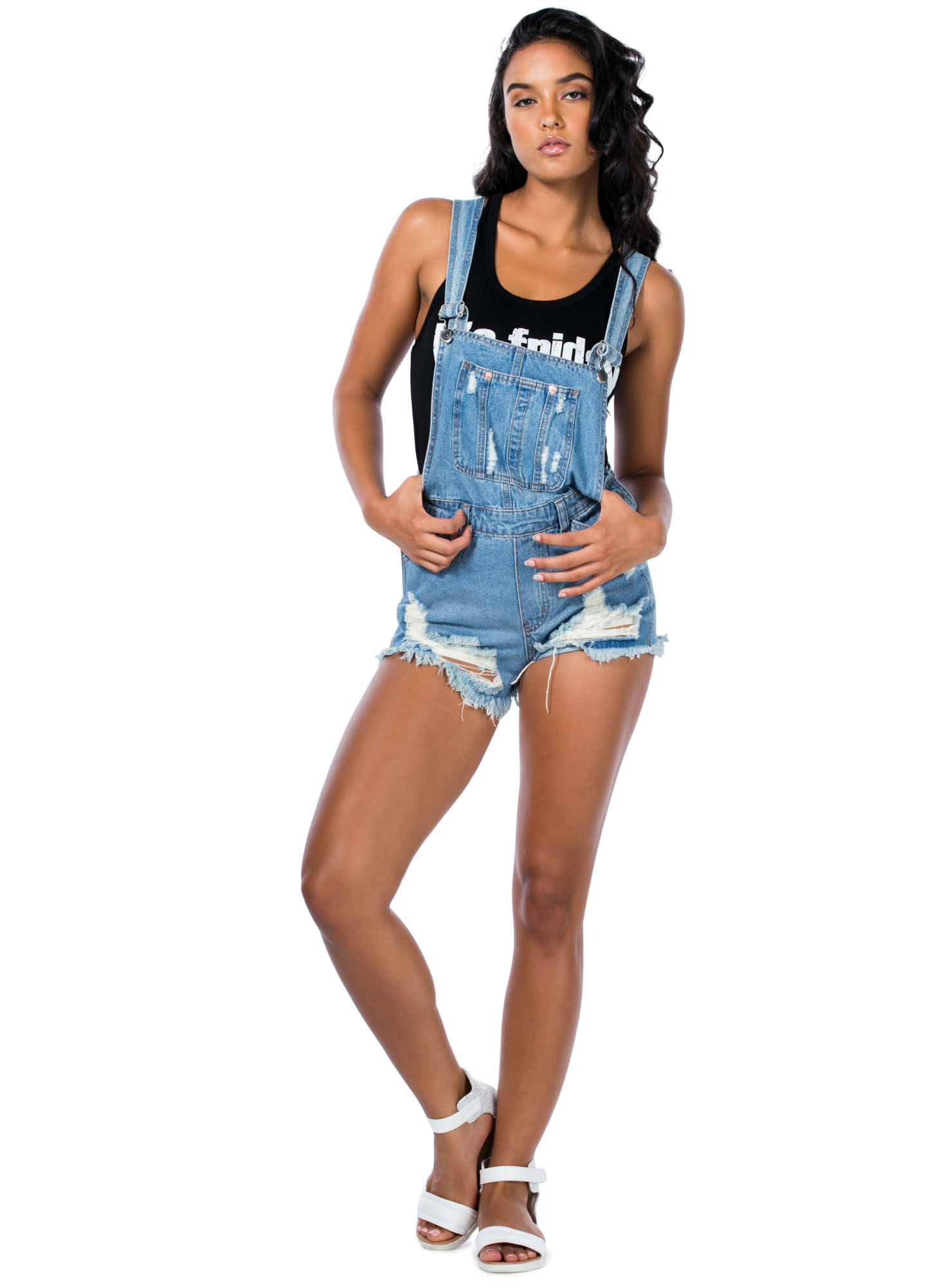 Shred To Death Shortalls BLUE