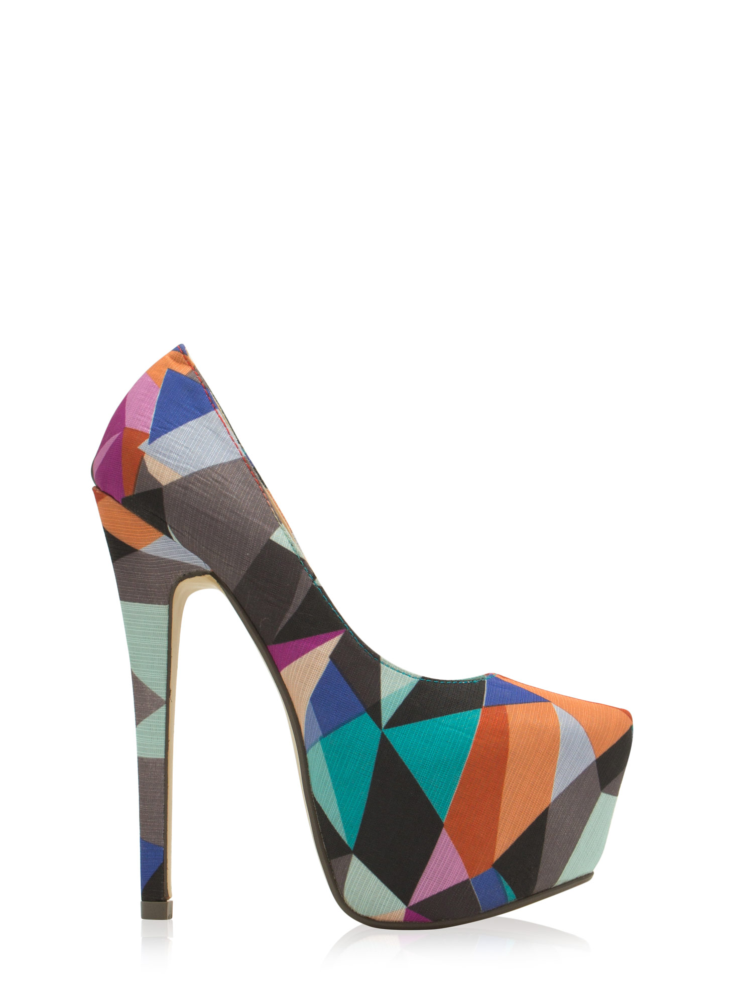 Shape Of Things Geometric Platforms RETRO