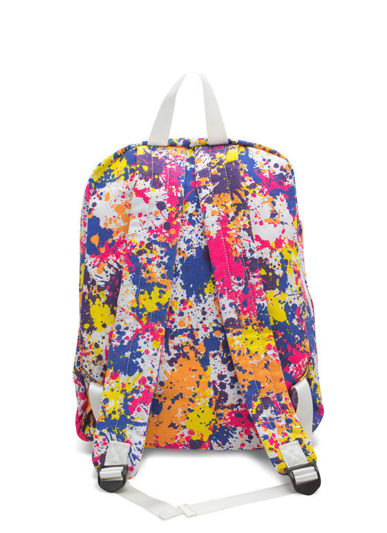 Paint Splatter Backpack MULTI