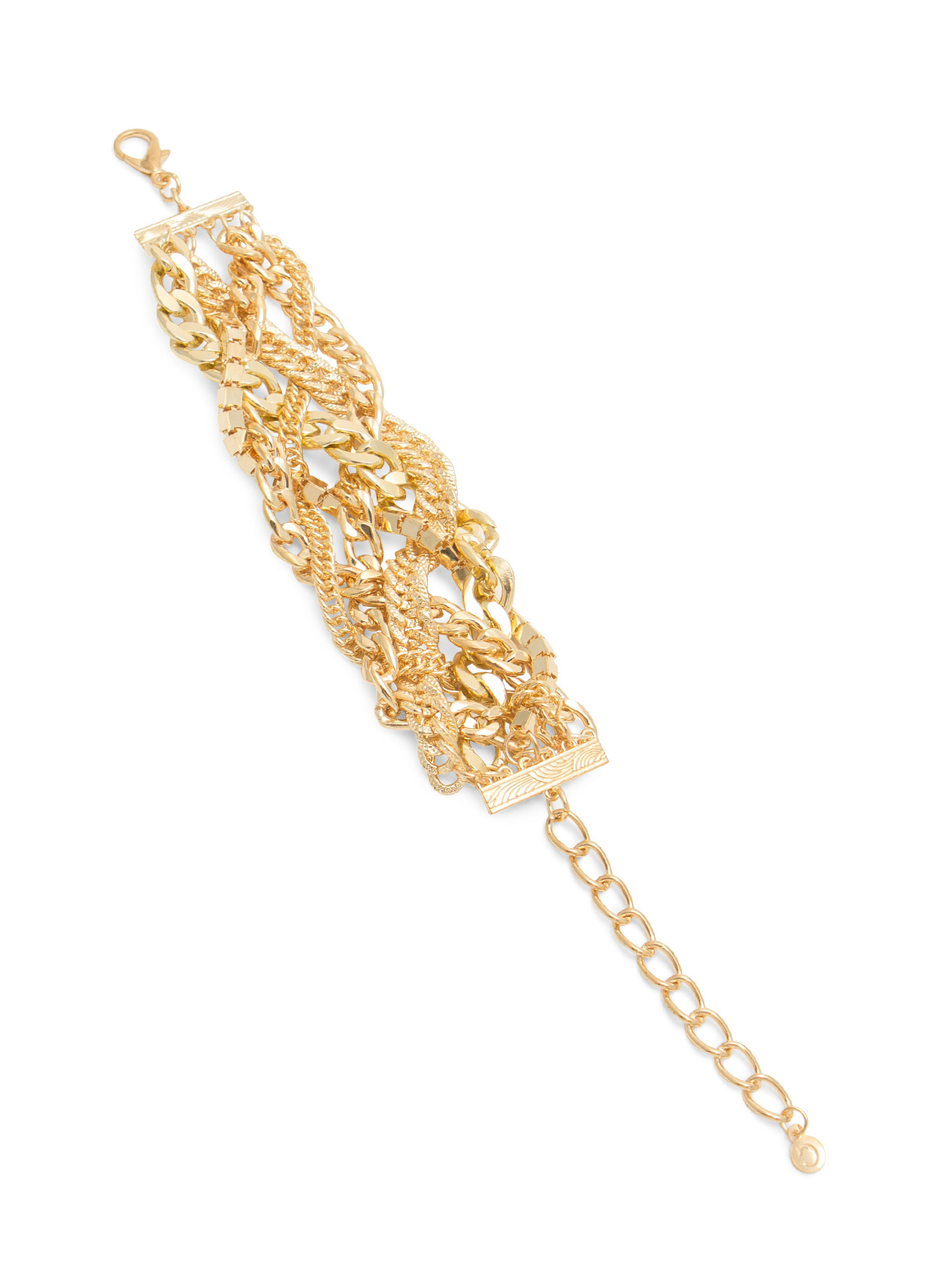 Metal Display Chain Bracelet GOLD