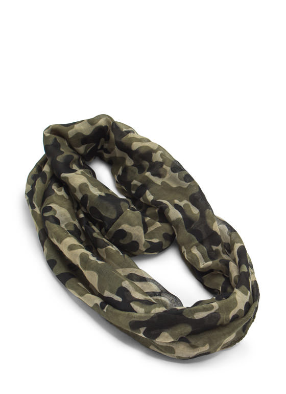 Blend In Camo Infinity Scarf CAMOUFLAGE