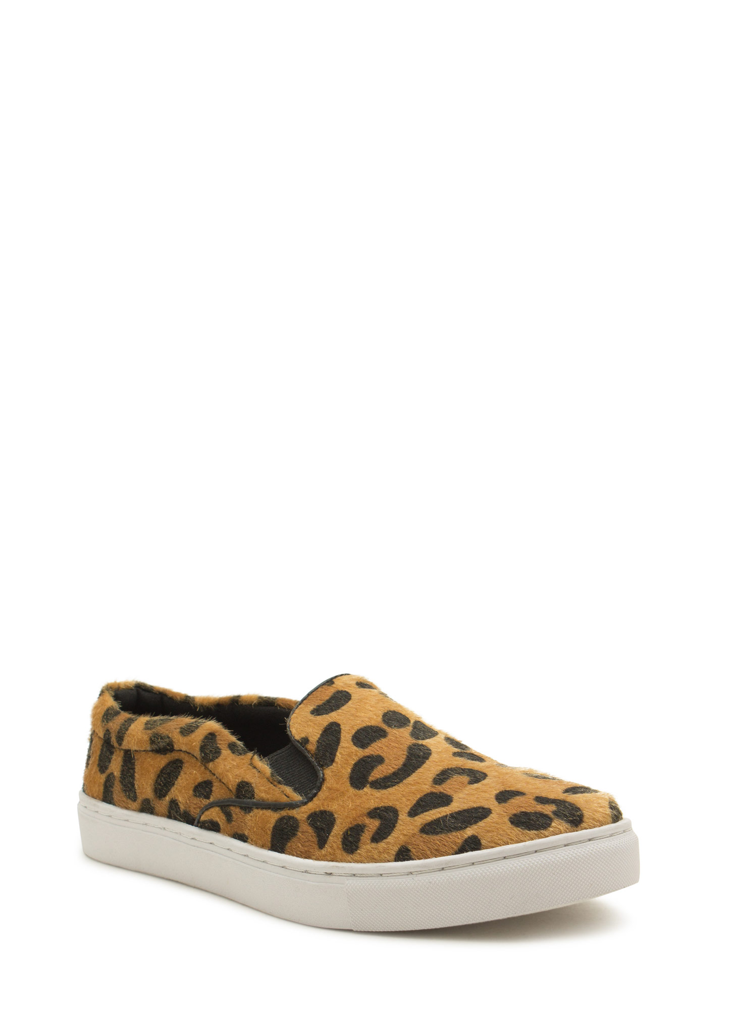 The Fuzz Slip-On Sneakers CAMELLEO