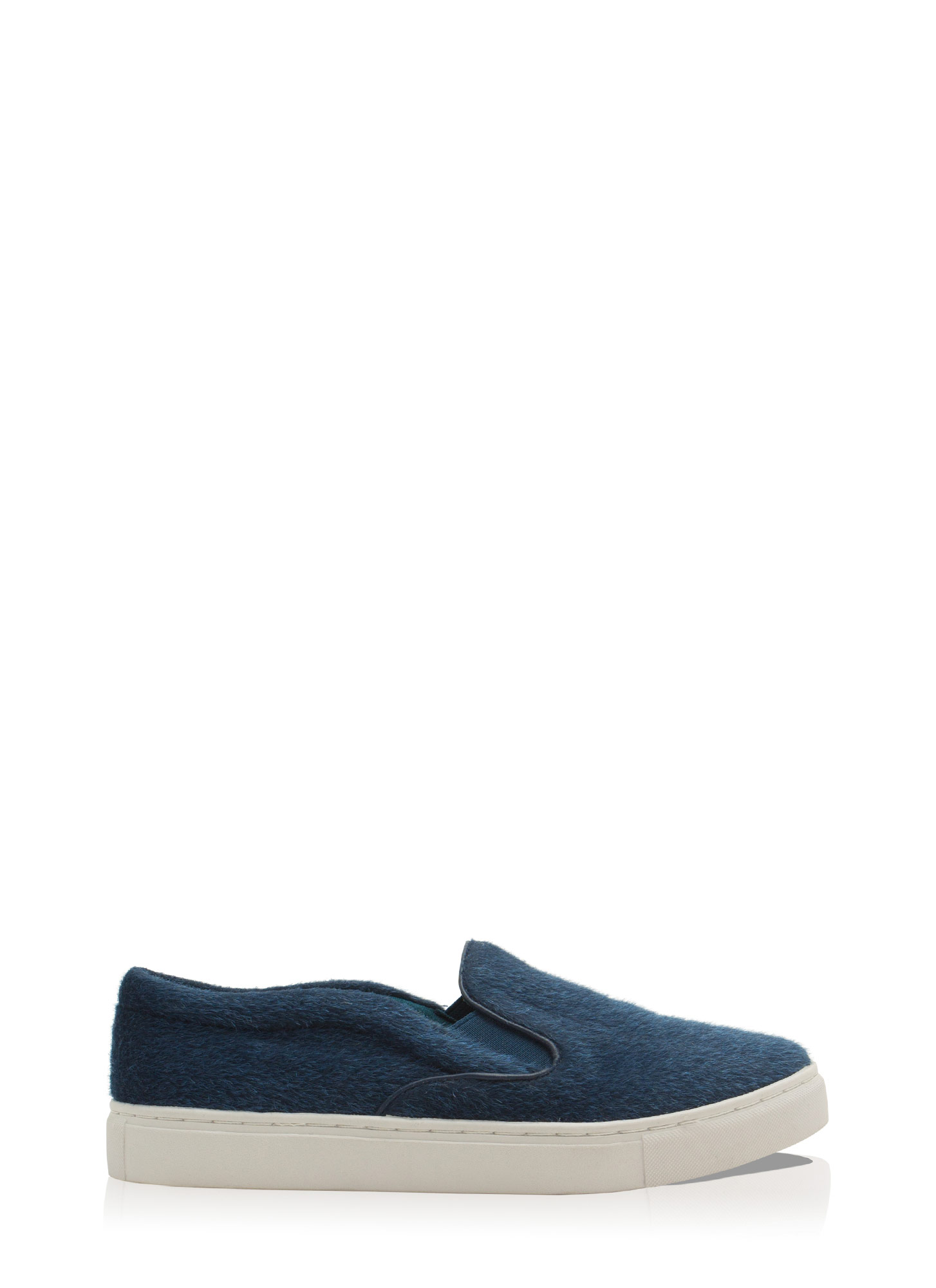 The Fuzz Slip-On Sneakers NAVY