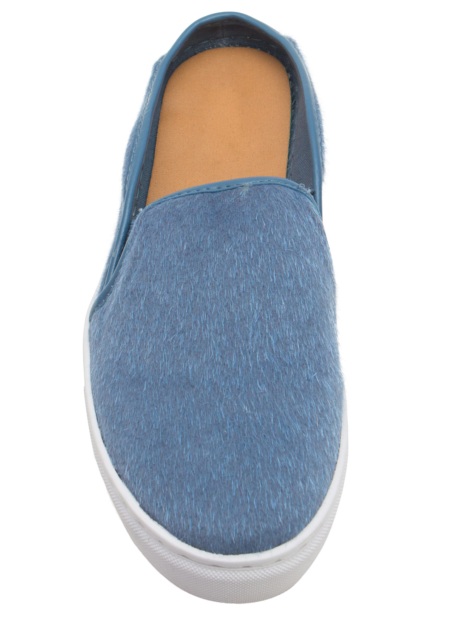 The Fuzz Slide Sneakers BLUE