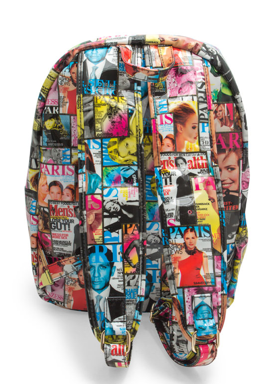 Cover Page Magazine Backpack MULTI