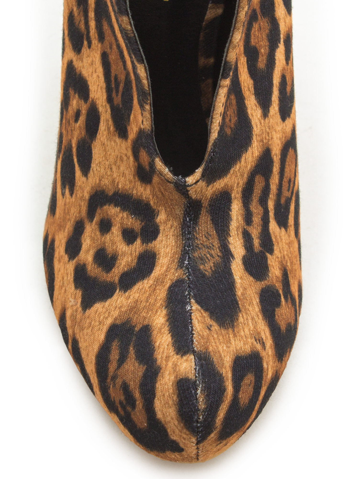 Take The Plunge Booties LEOPARD
