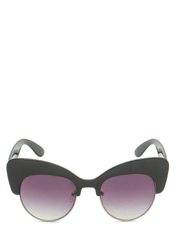 Cat Got Your Tongue Sunglasses BLACKSLVR