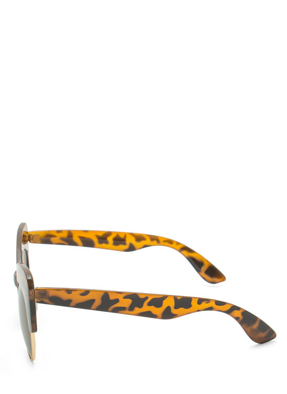 Cat Got Your Tongue Sunglasses LTTORTOISE