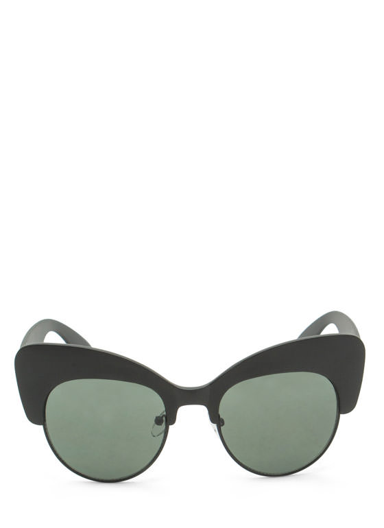 Cat Got Your Tongue Sunglasses MATTEBLACK