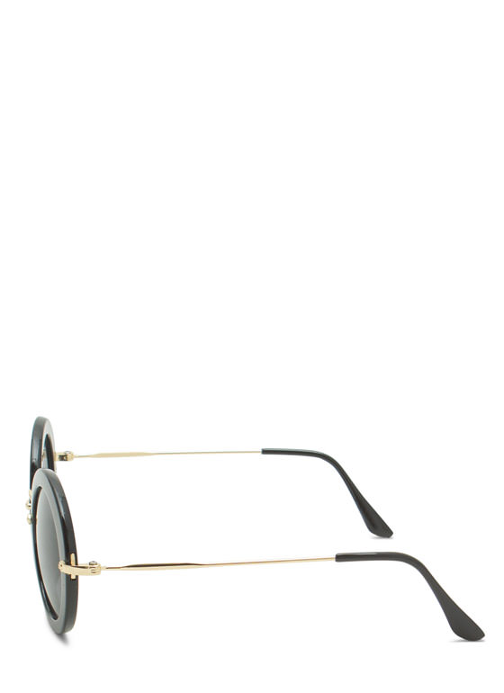 Round We Go Sunglasses BLACKGOLD