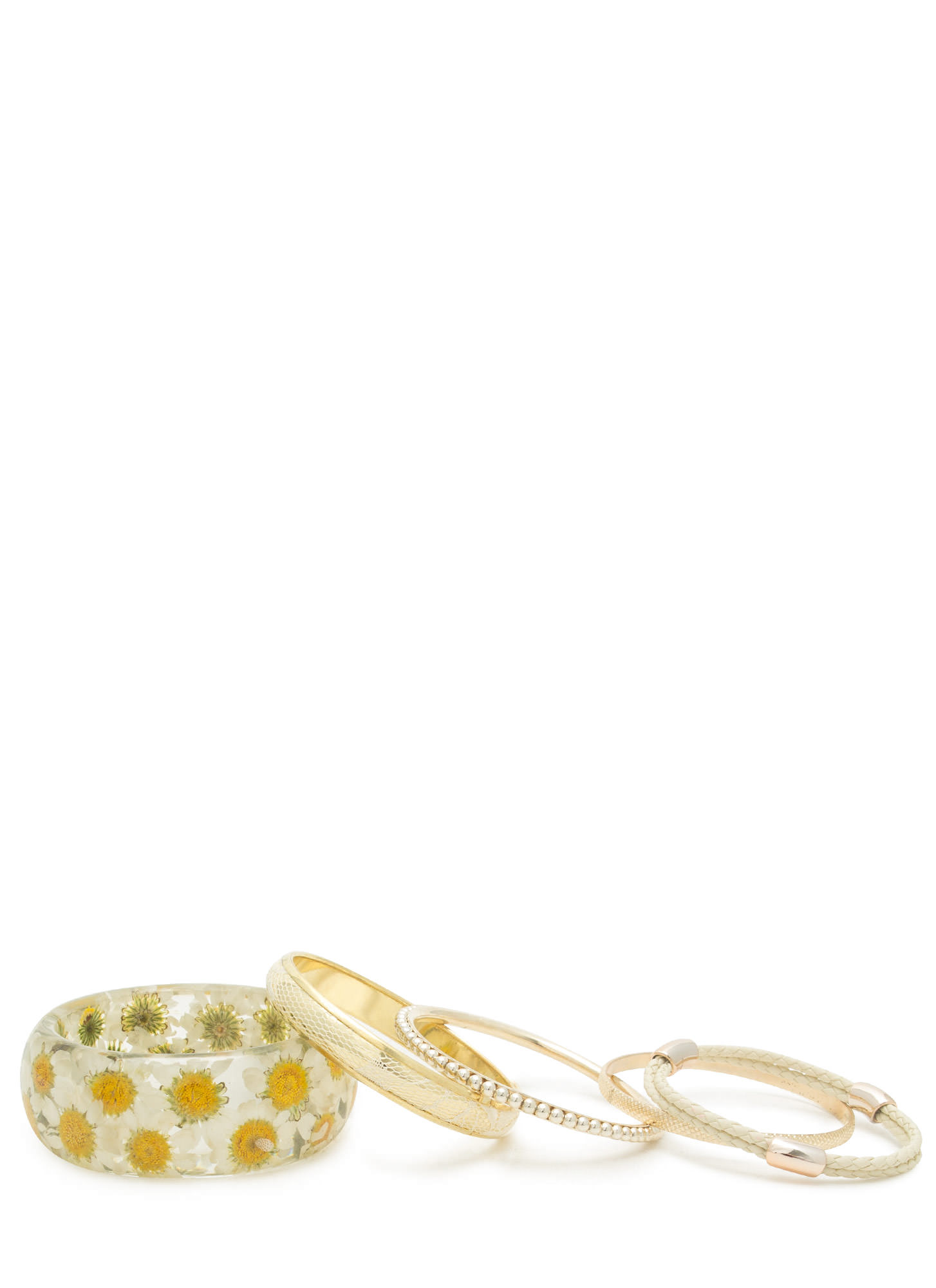 Daisy Dreams Bangle Set CLEARMULTI