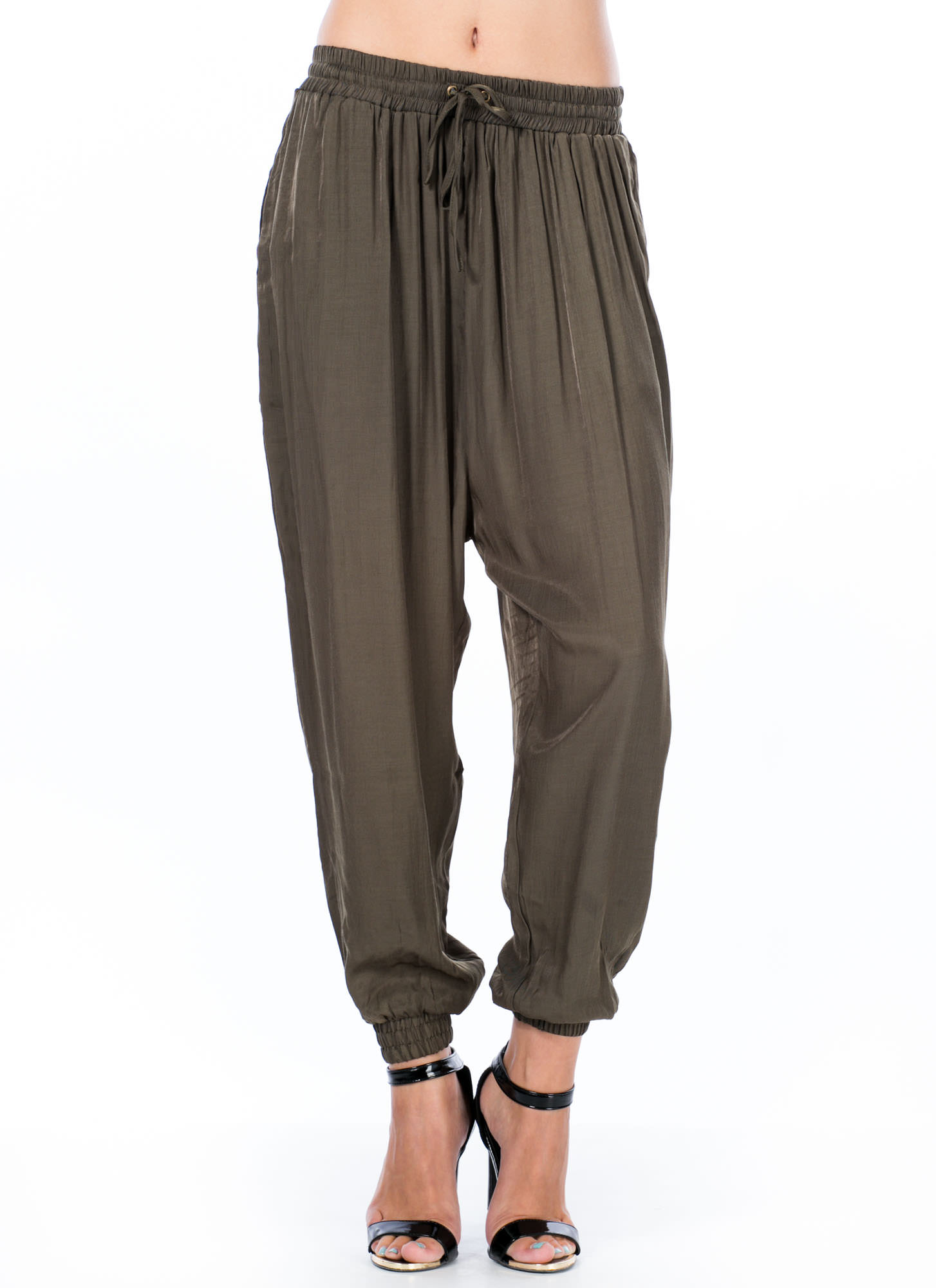 Sit Back 'N Relaxed Fit Joggers OLIVE