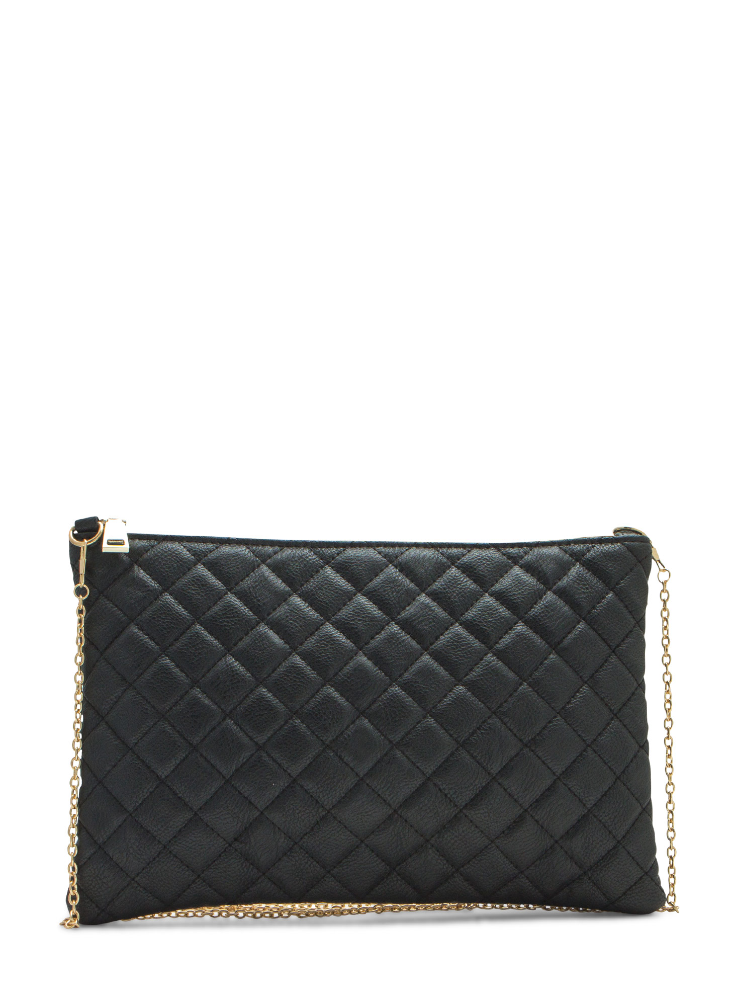 Quilty Life Rectangle Clutch BLACK