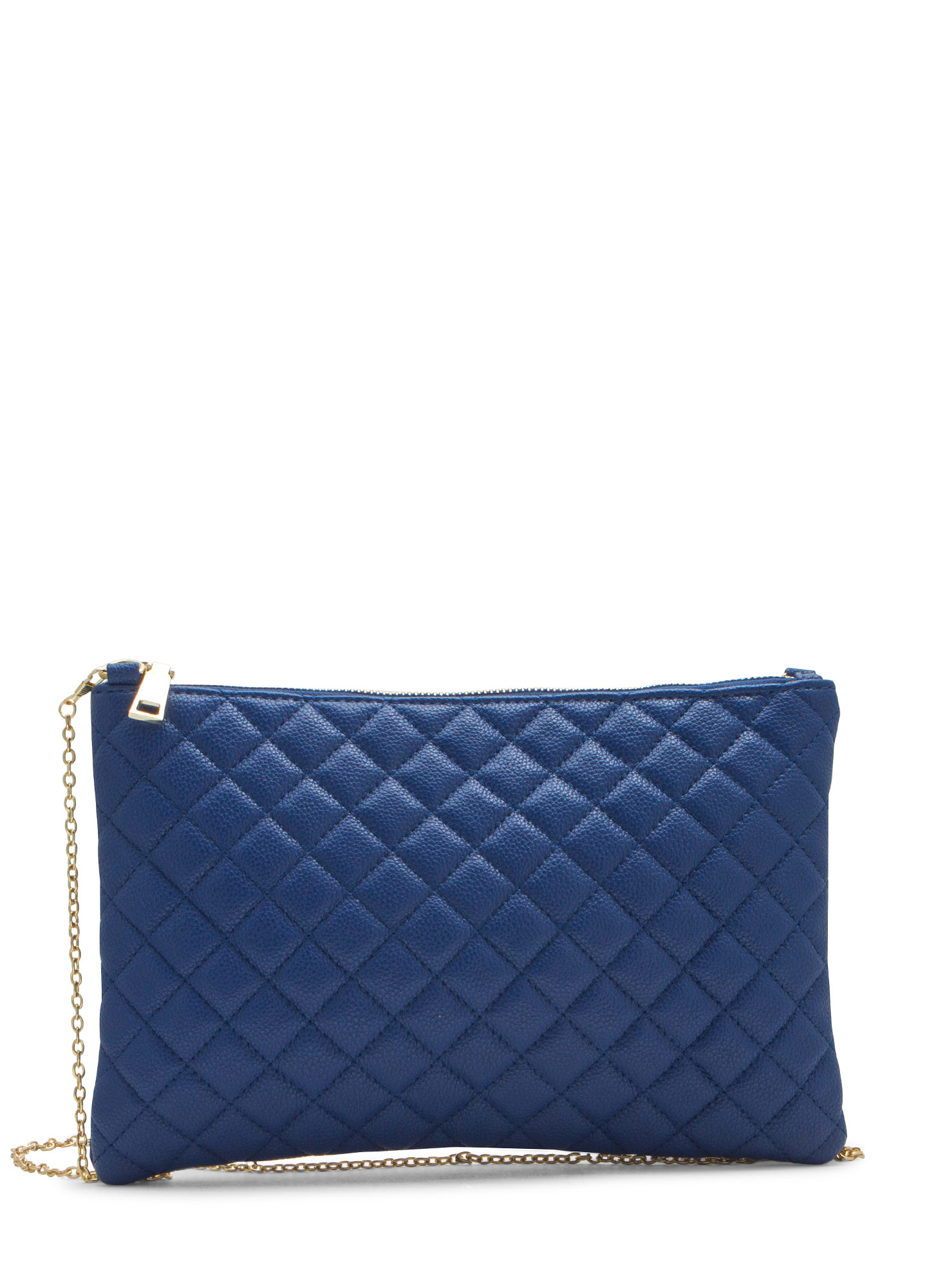 Quilty Life Rectangle Clutch BLUE
