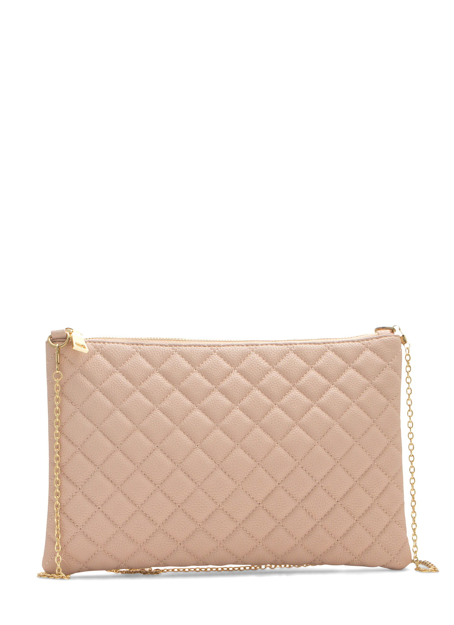 Quilty Life Rectangle Clutch BLUSH