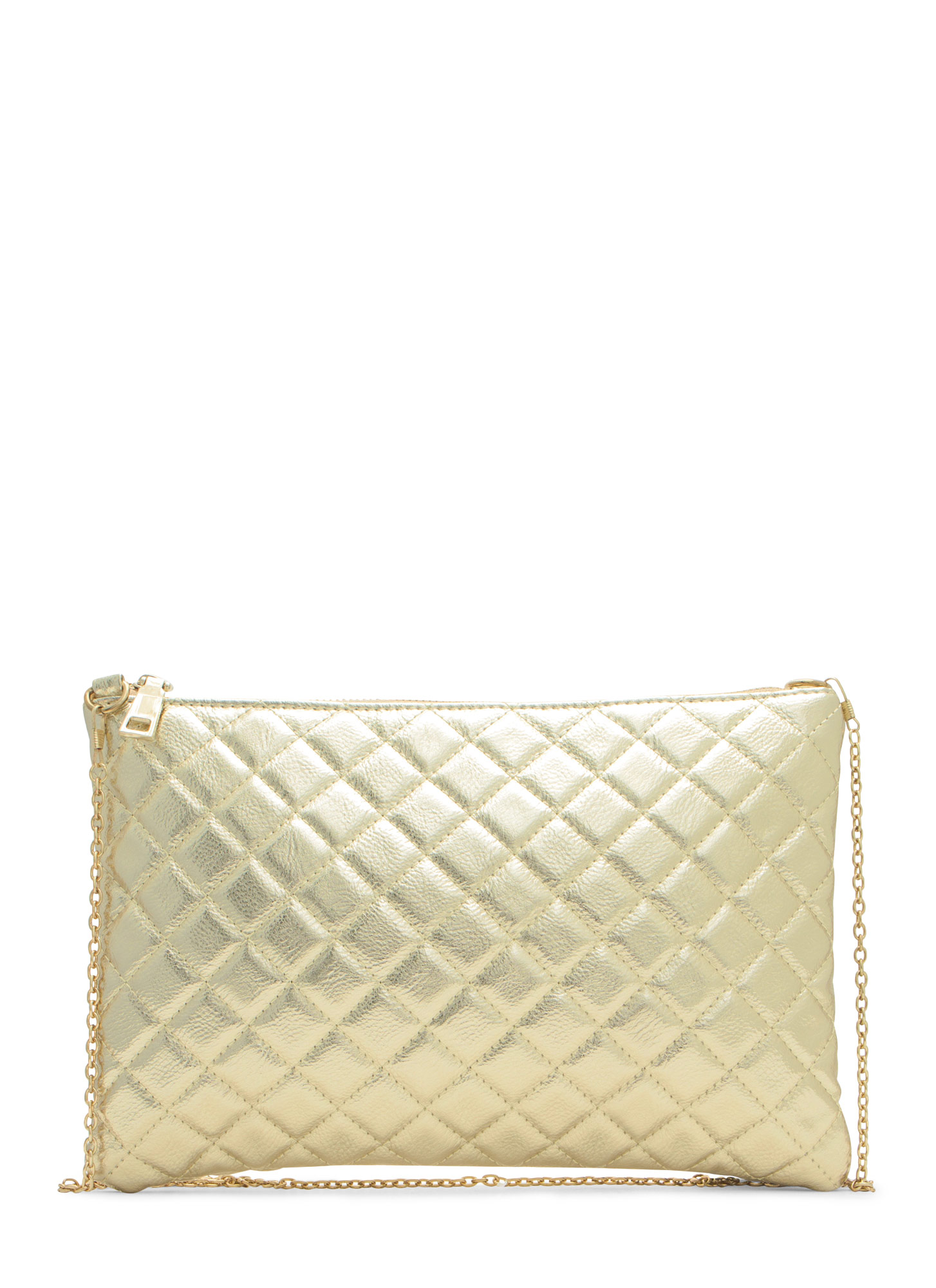 Quilty Life Rectangle Clutch GOLD