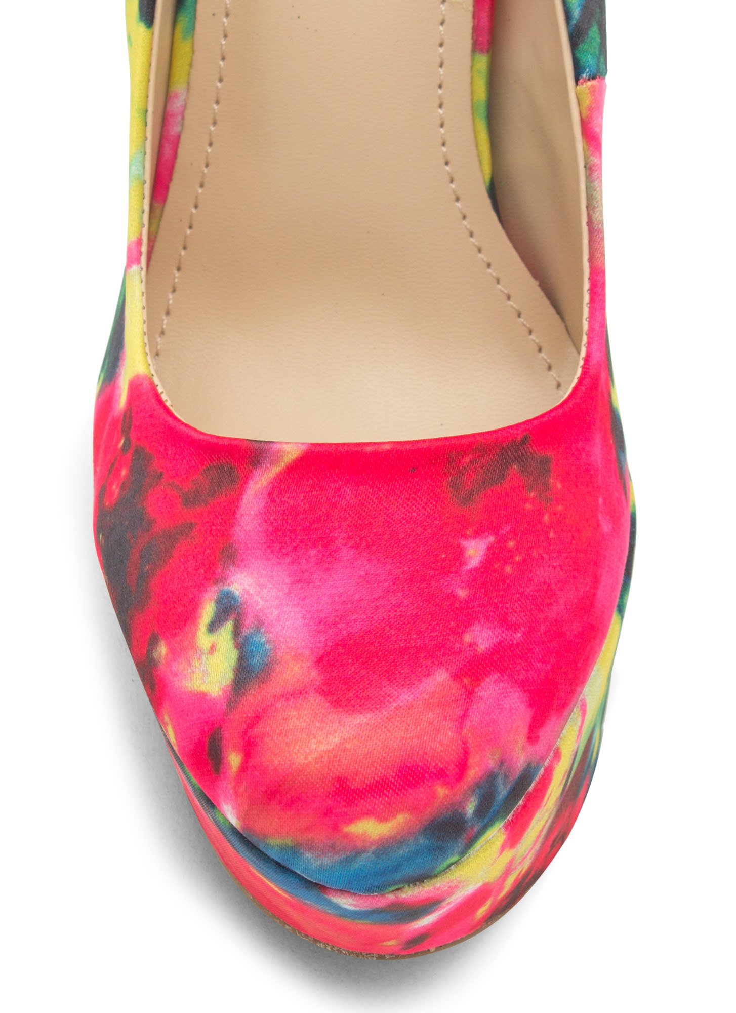 Watercolor Wonderland Abstract Platforms YELLOW