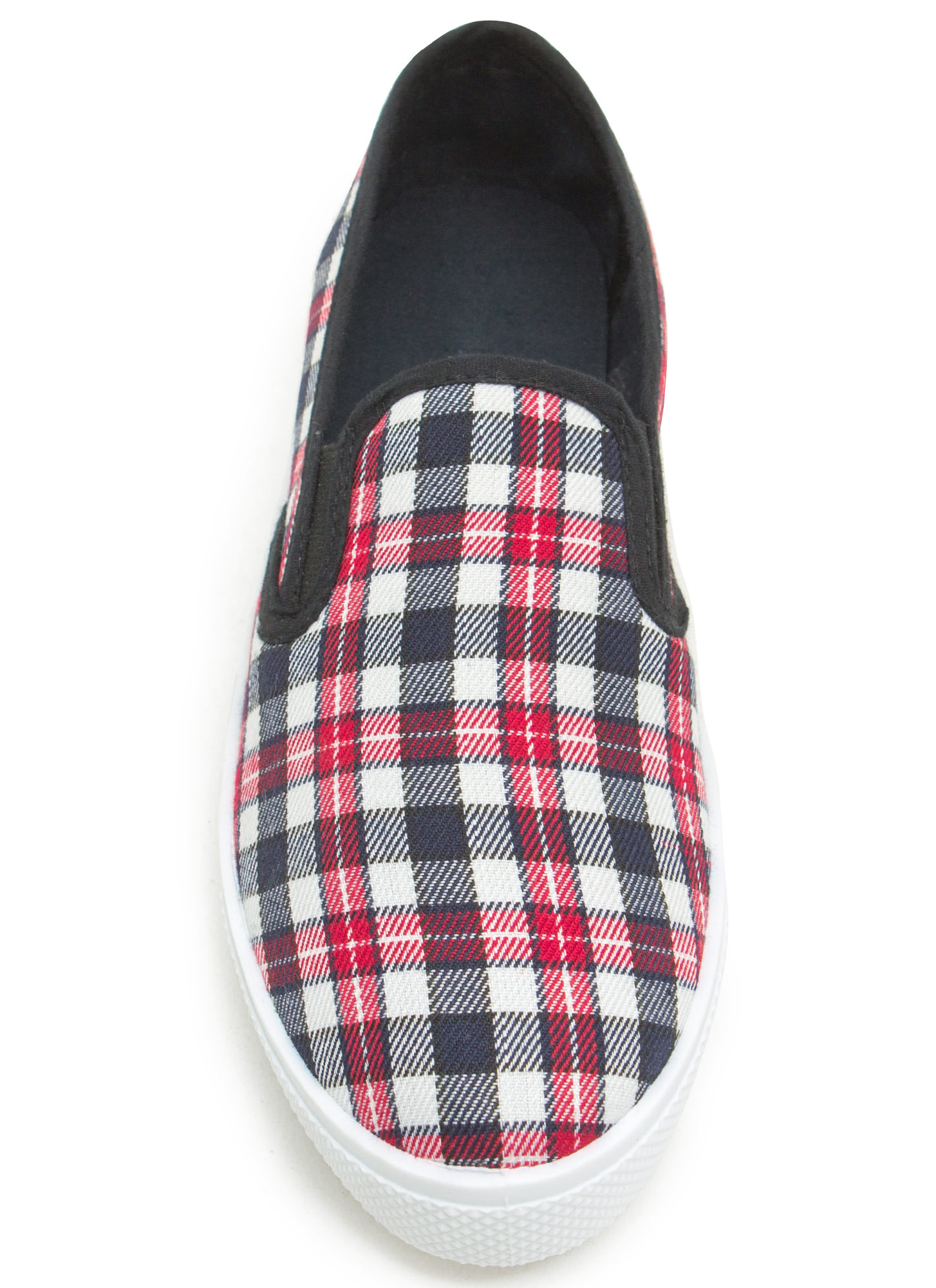 Skate Park Print-cess Slip-On Sneakers NAVY