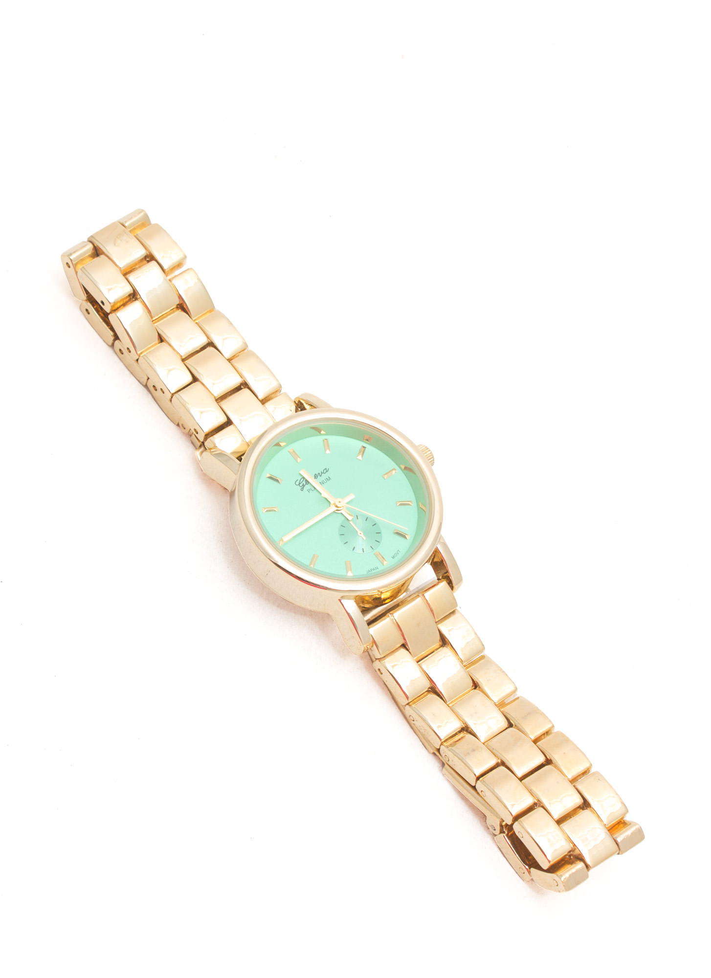 Simply Irresistible Brick Link Watch MINTGOLD