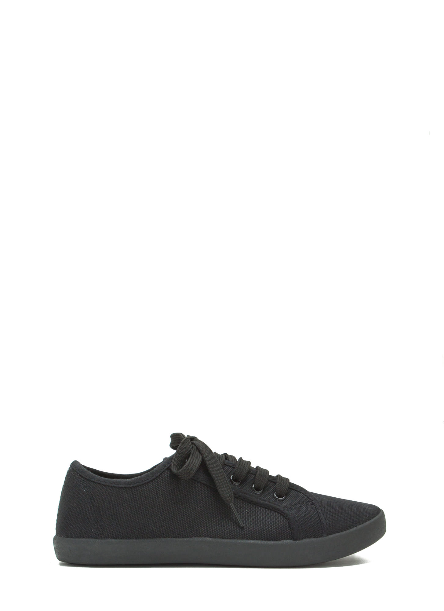 Off-Duty Classic Canvas Sneakers BLACK