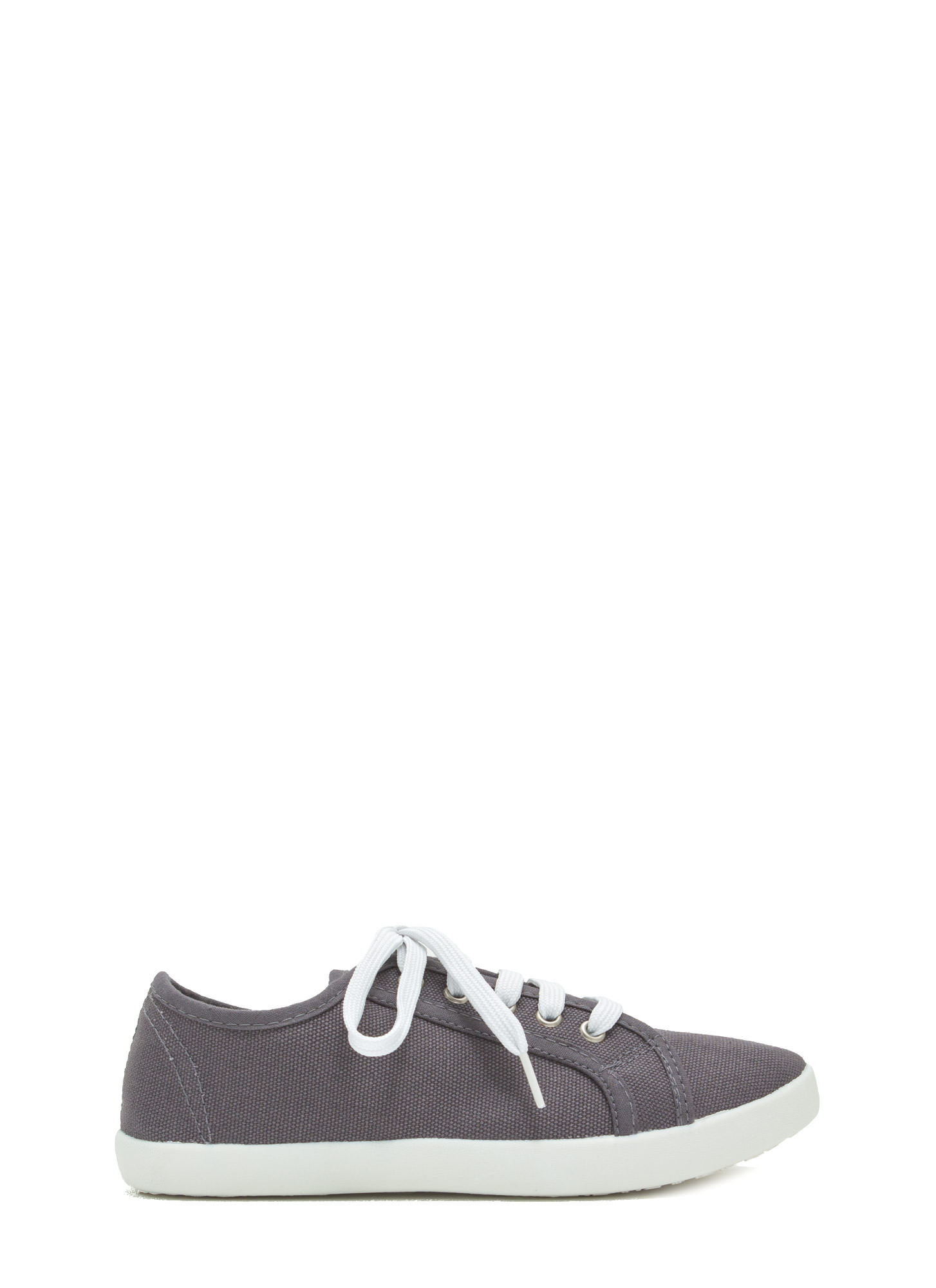 Off-Duty Classic Canvas Sneakers GREY