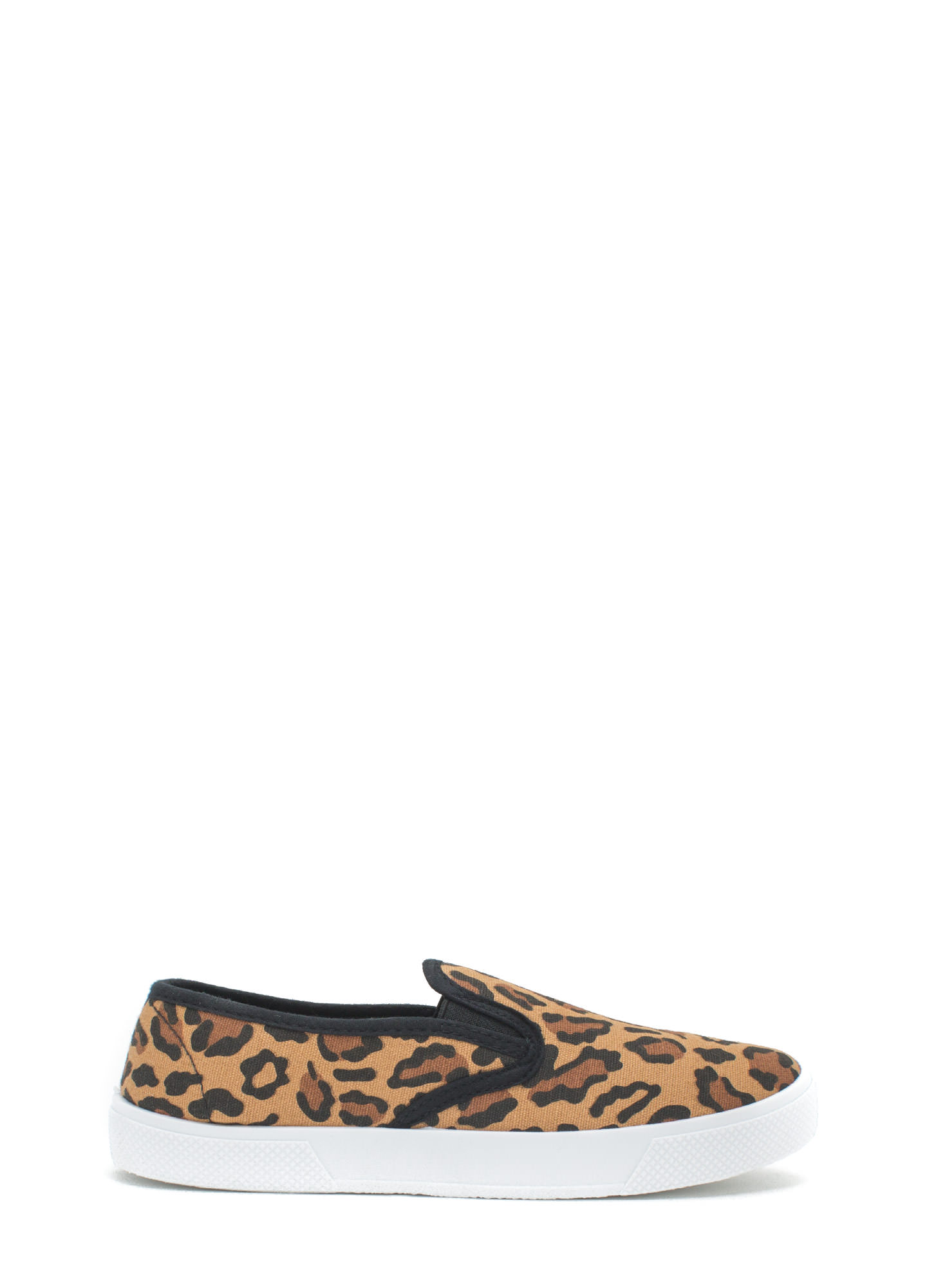 Let It Be Leopard Slip-On Sneakers LEOPARD