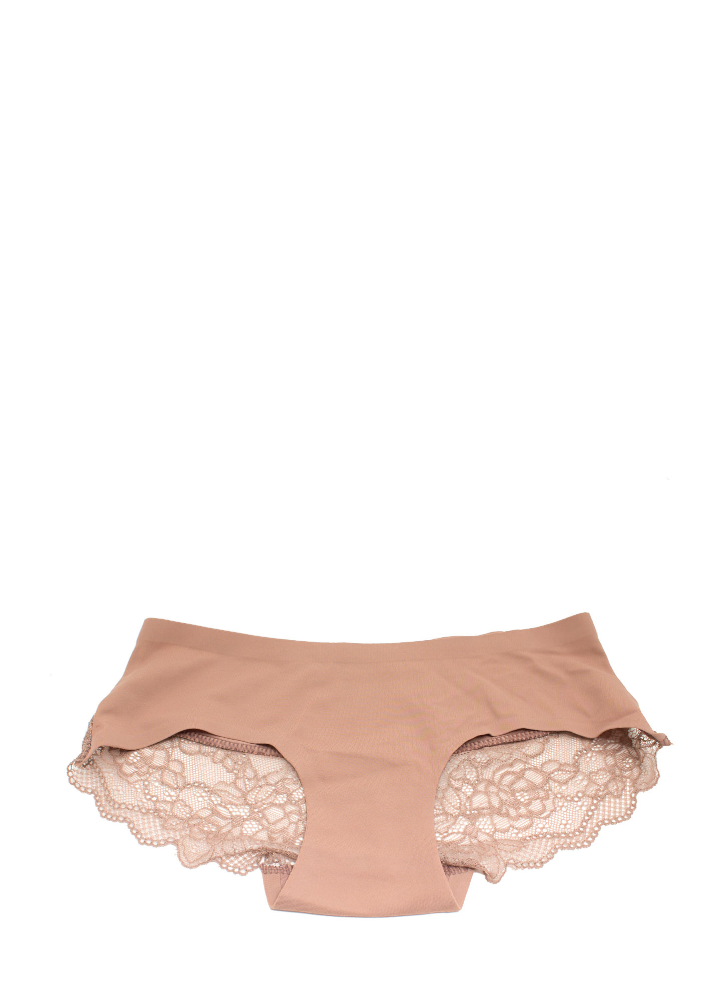 Lace Yourself Seamless Briefs CAMEL