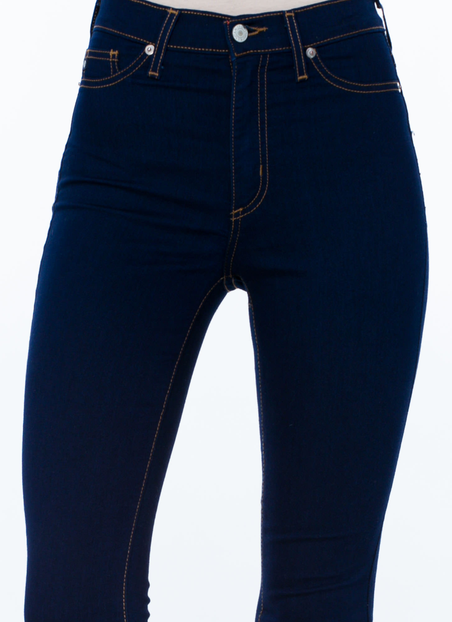 On A High Skinny Jeans NAVY