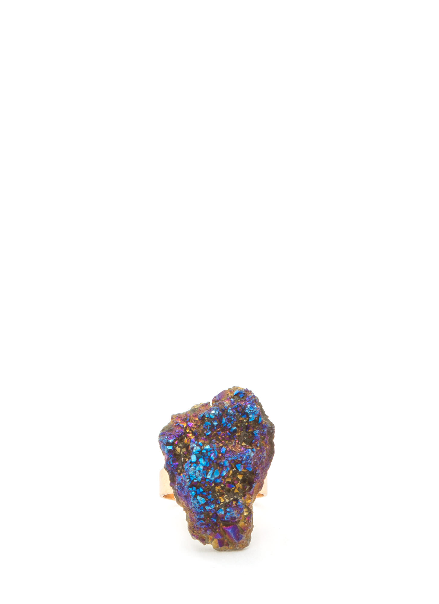 Mined Stone Ring PURPLEMULTI