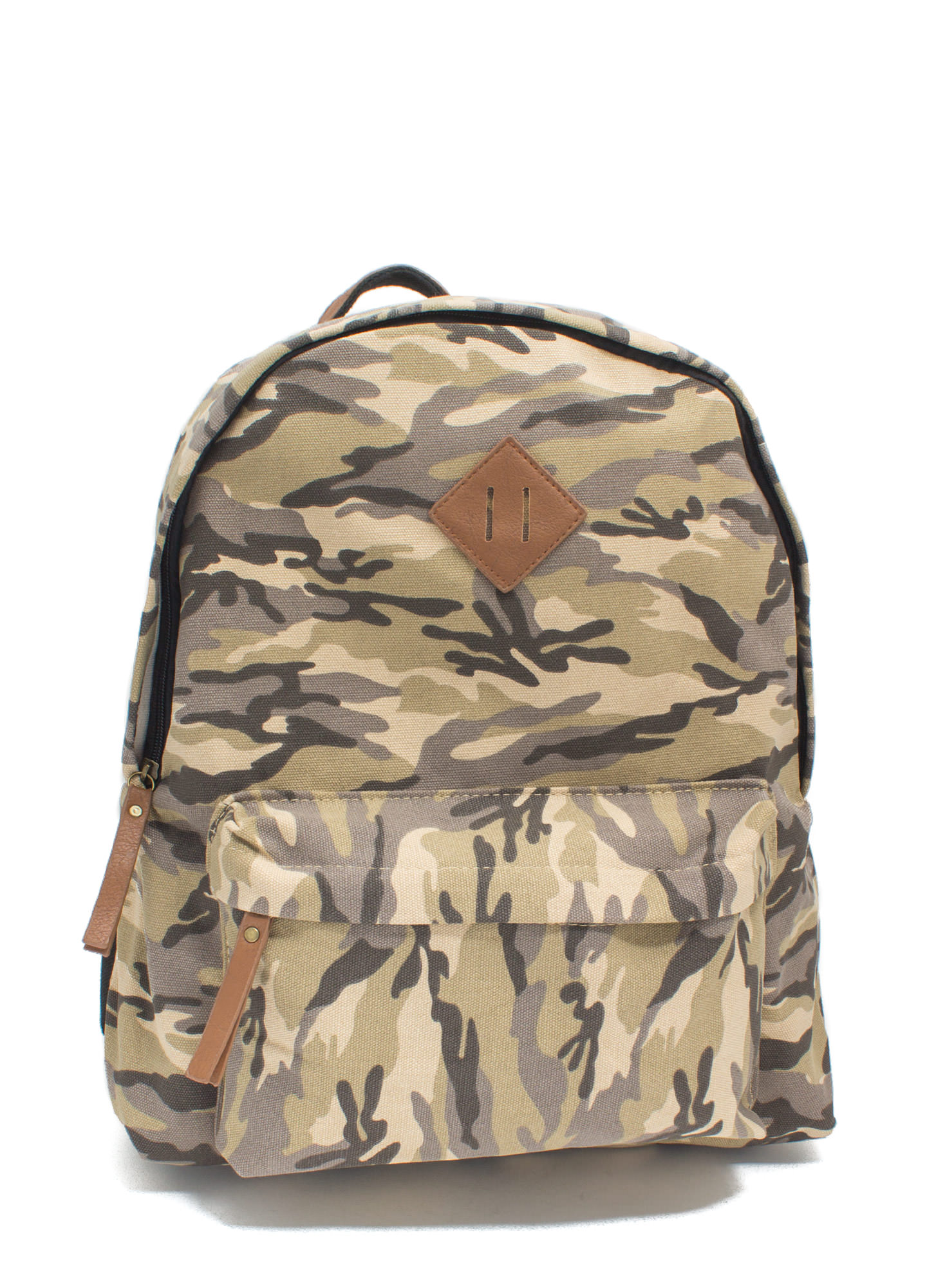 Stand Out Camouflage Backpack OLIVEMULTI