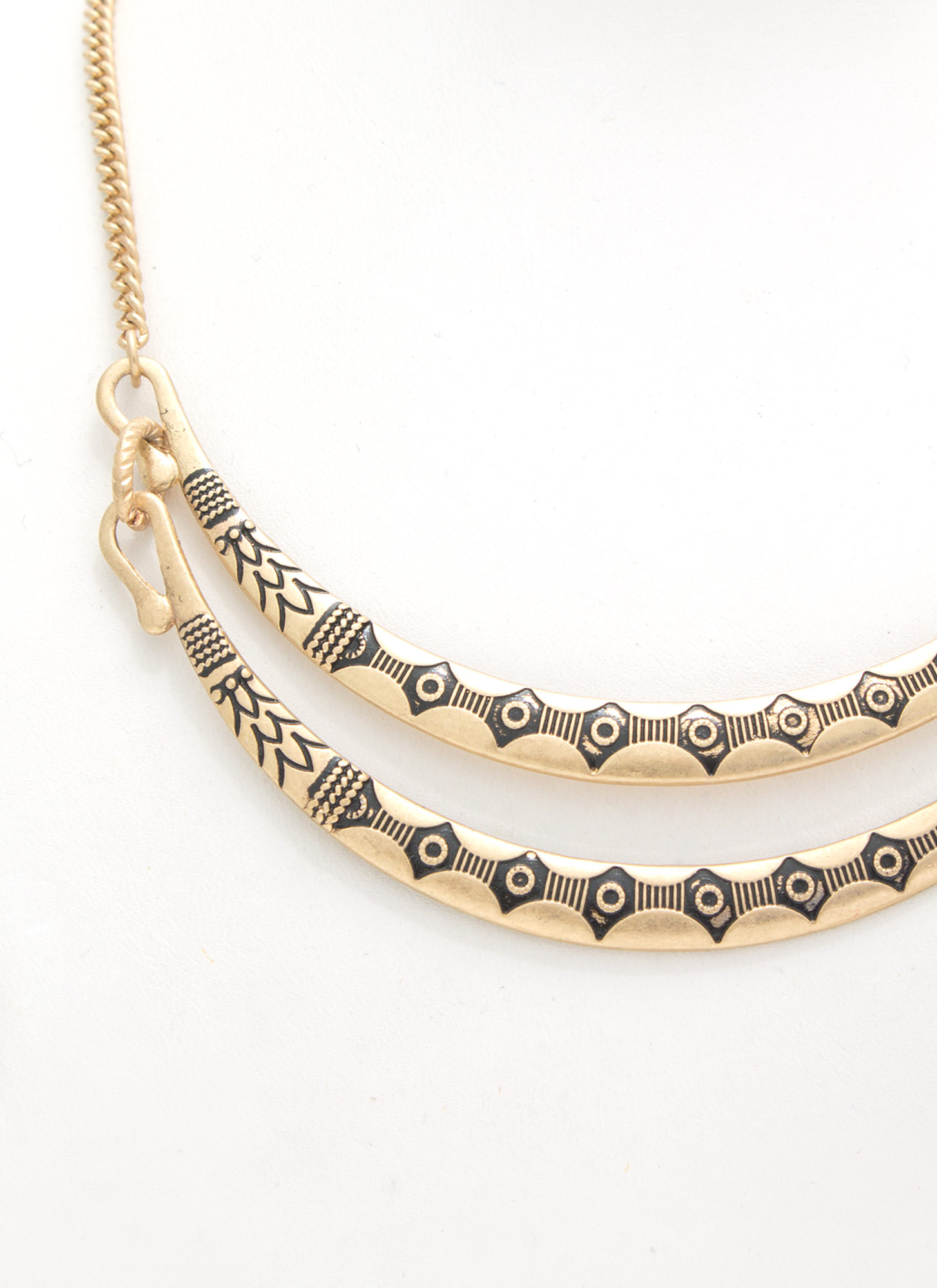 Tribe Vibe Necklace Set DKGOLD