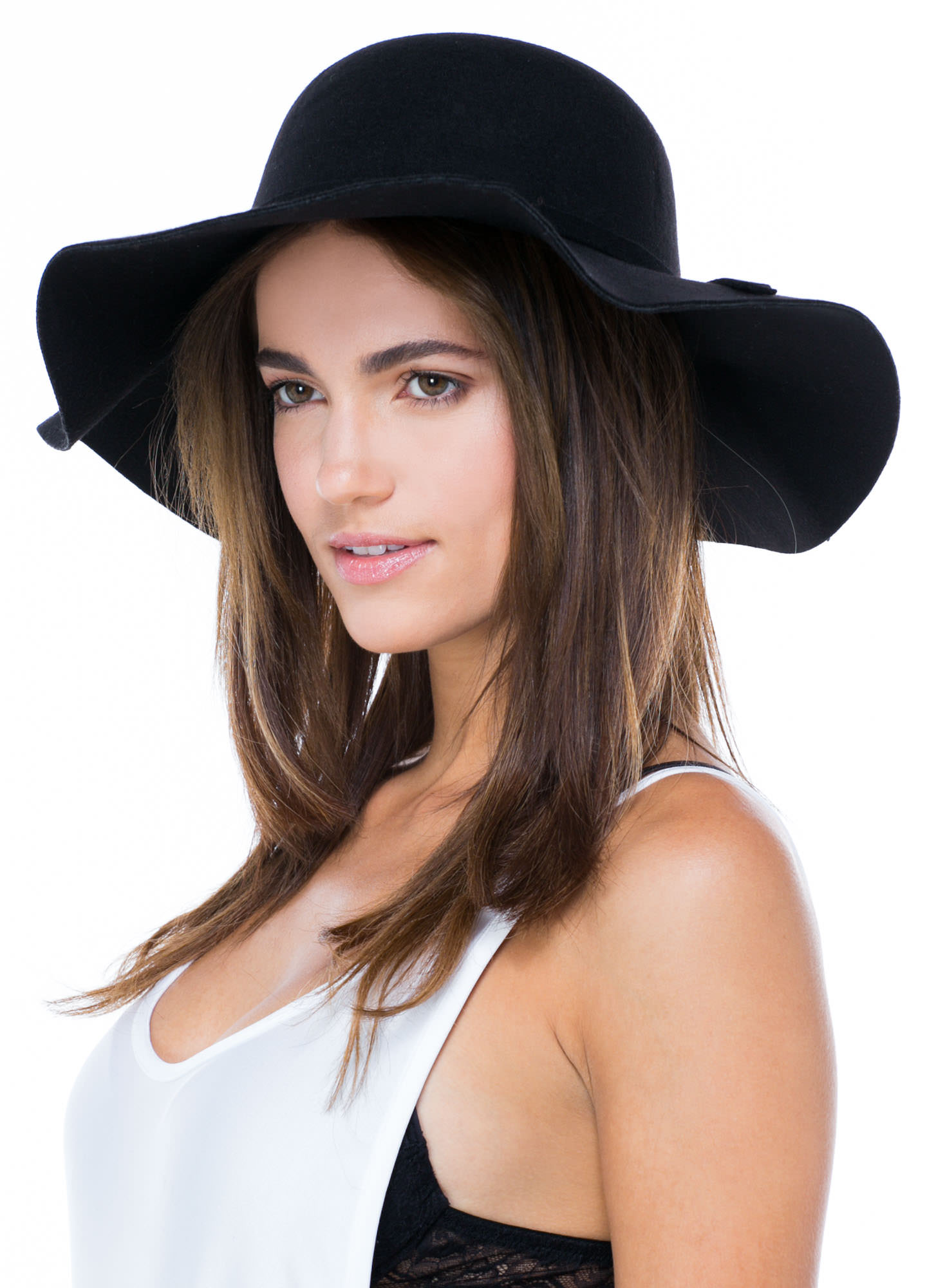 Knotted Tie Relaxed Hat BLACK