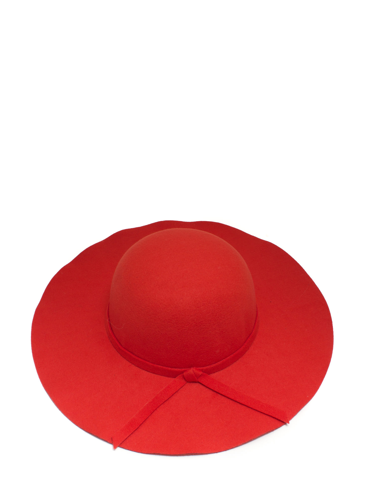 Knotted Tie Relaxed Hat TOMATO