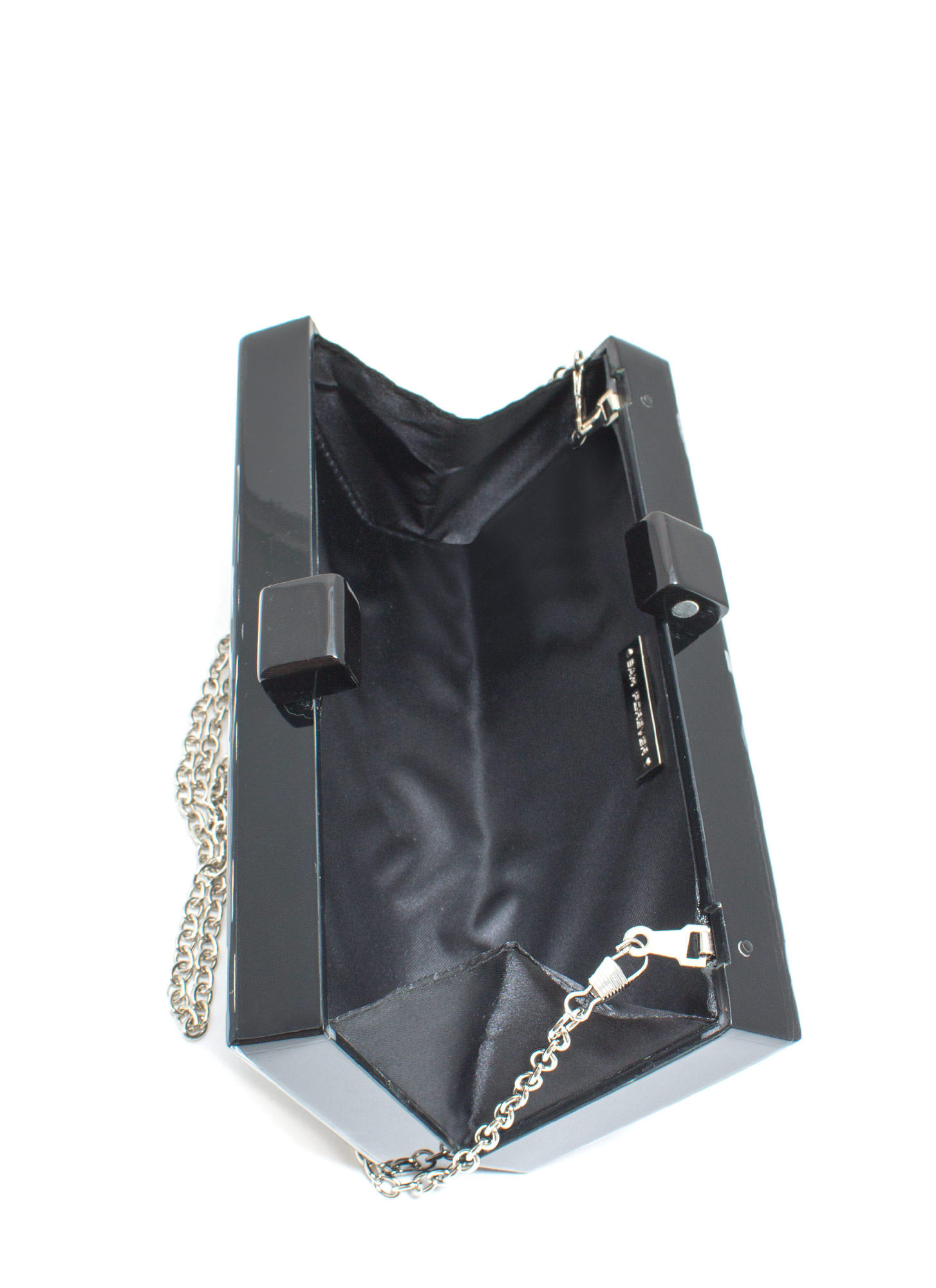 Domino Rally Resin Clutch BLACK