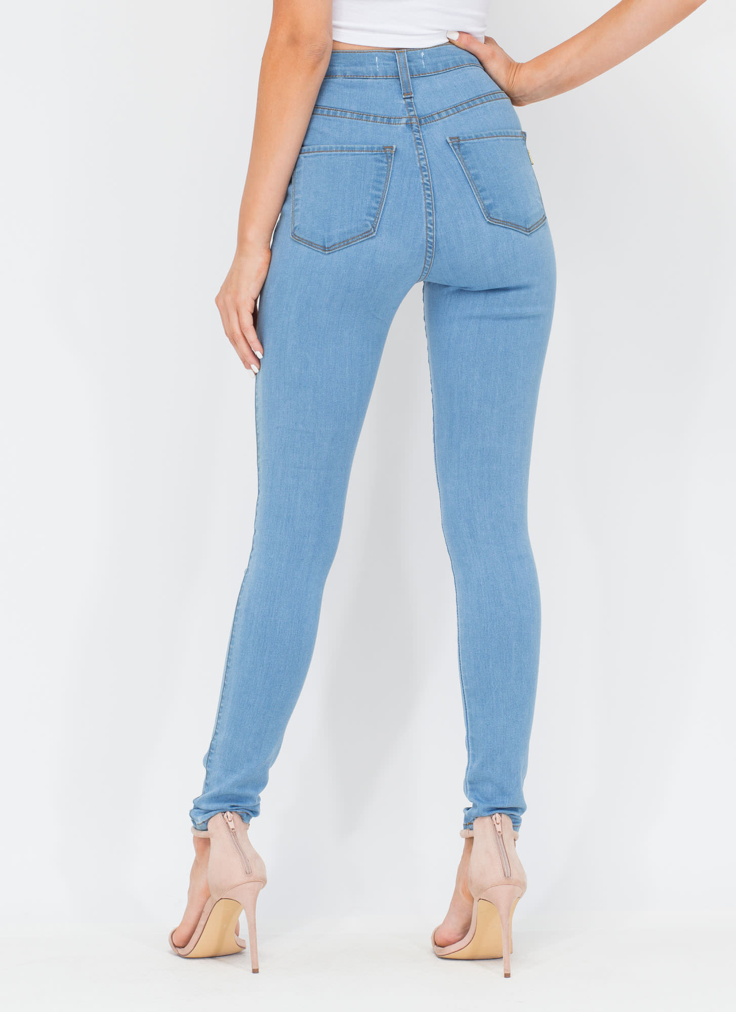 High Times Skinny Jeans LTBLUE