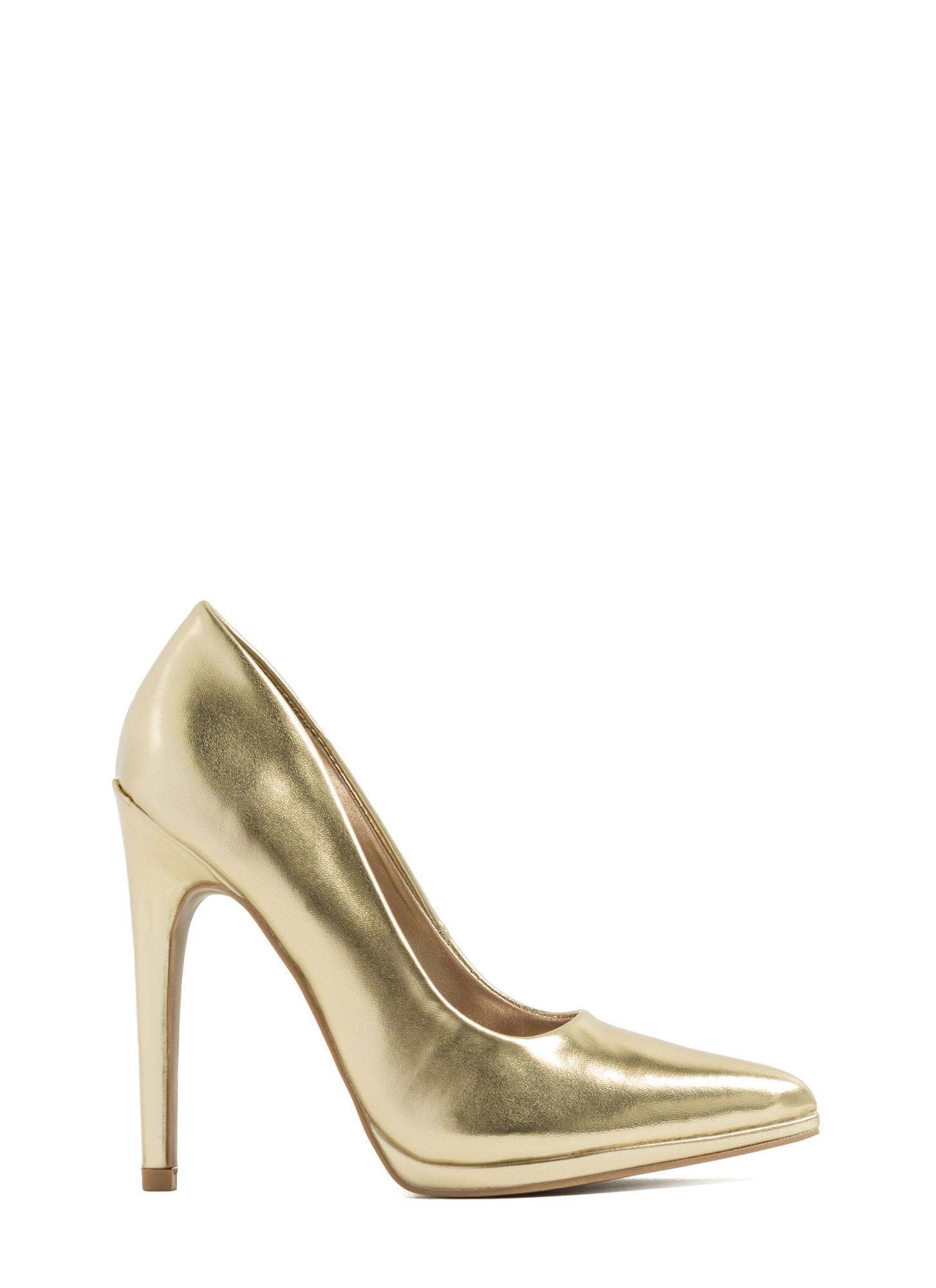 Gold Heels On Sale - Is Heel