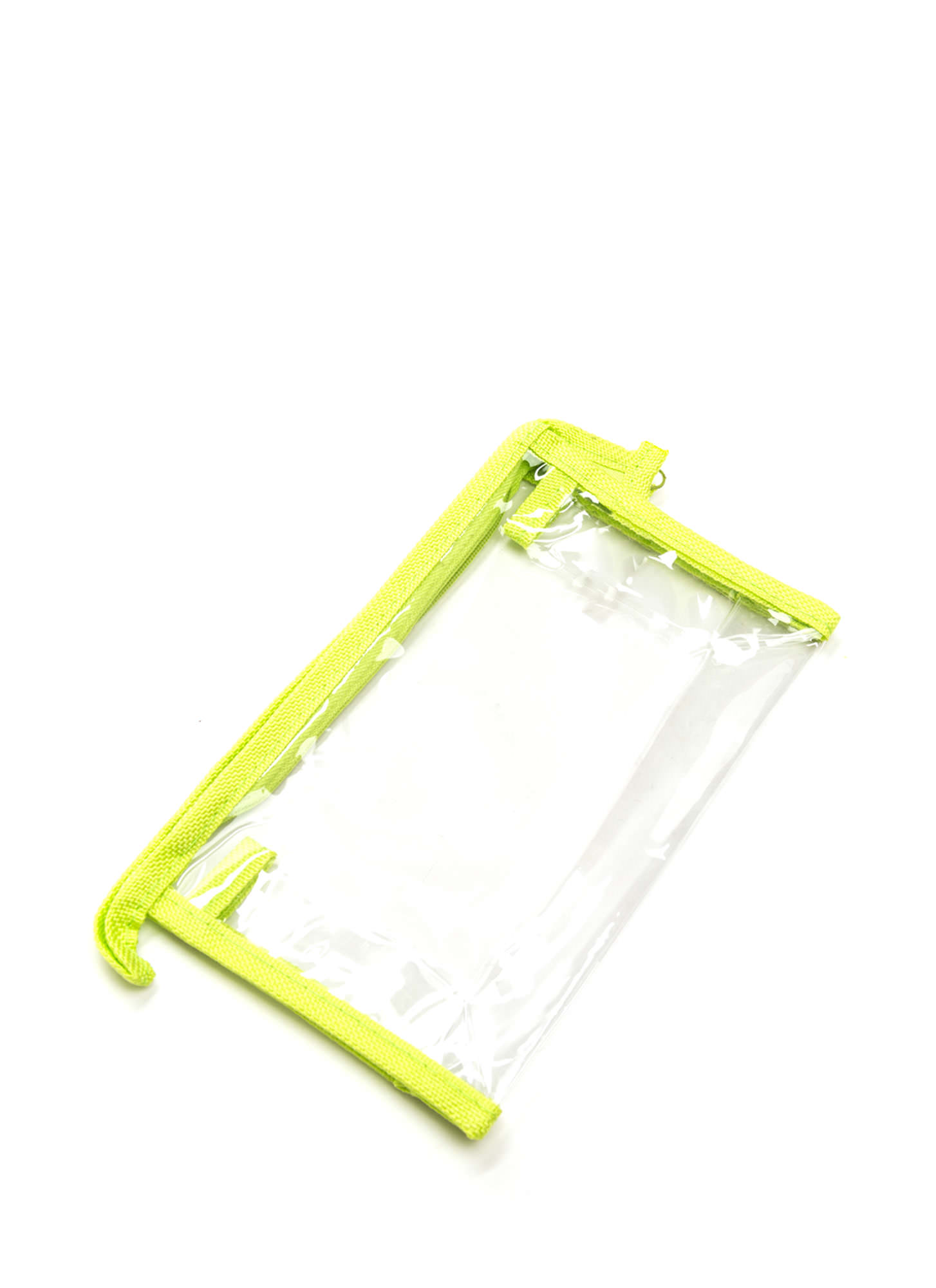 In Sight Zippered Pouch LIMECLEAR