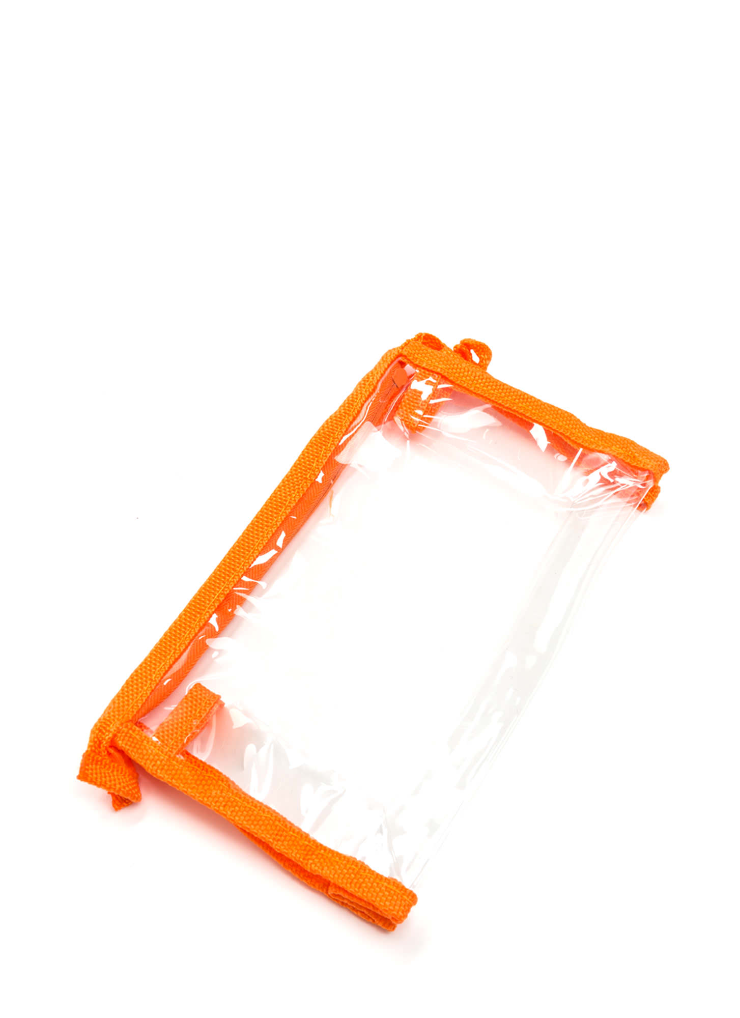 In Sight Zippered Pouch ORANGECLEAR