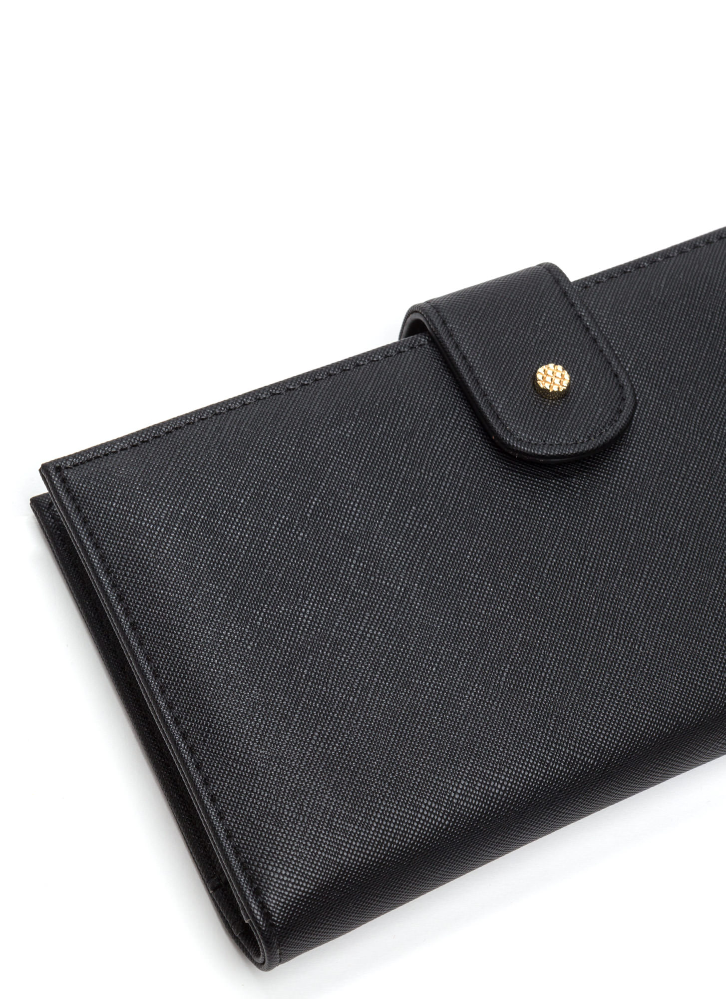 Two Become One Wallet Clutch BLACK