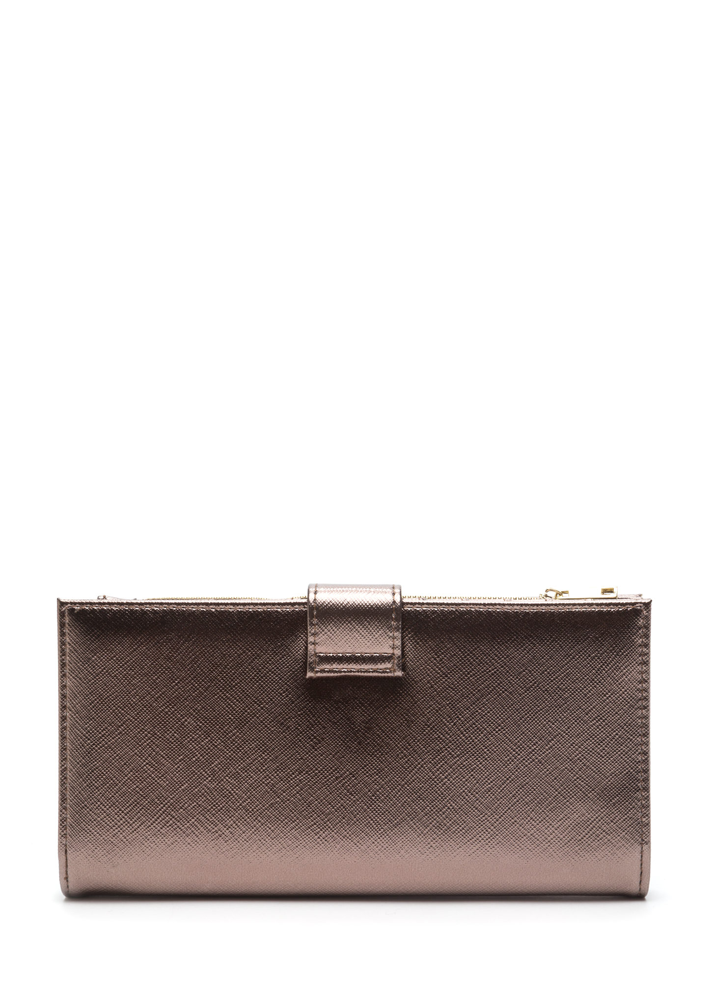 Two Become One Wallet Clutch BRONZE