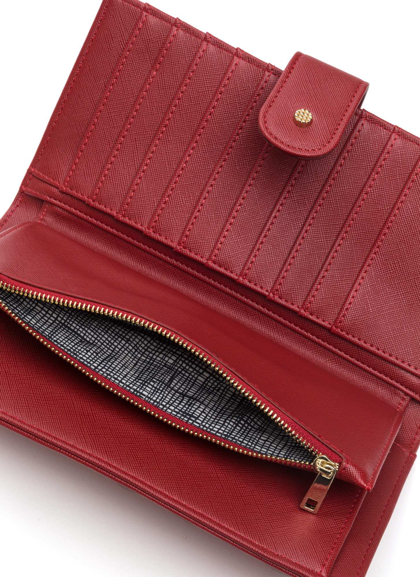 Two Become One Wallet Clutch RED