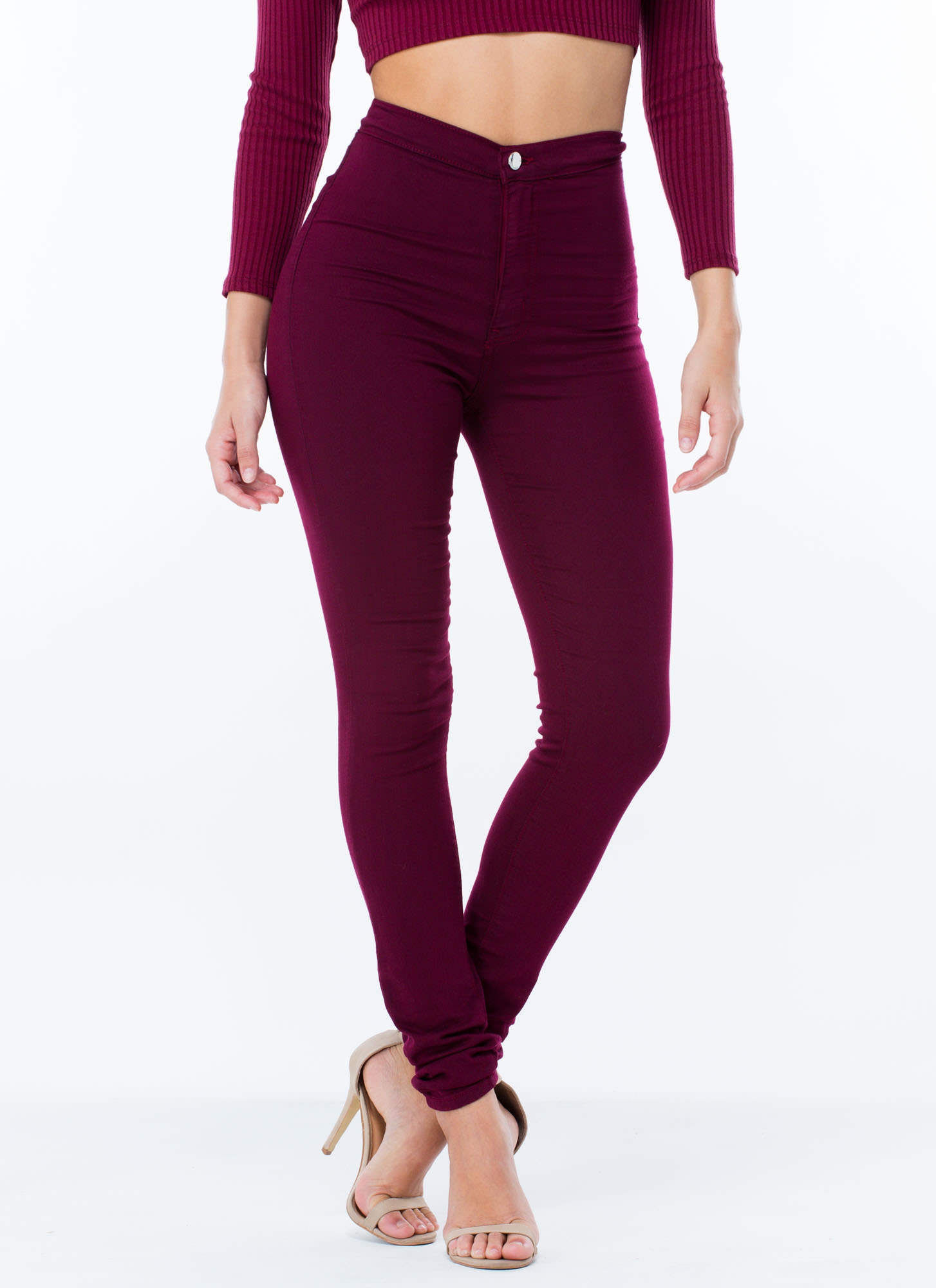 Find colored skinny high waist jeans at ShopStyle. Shop the latest collection of colored skinny high waist jeans from the most popular stores - all in.