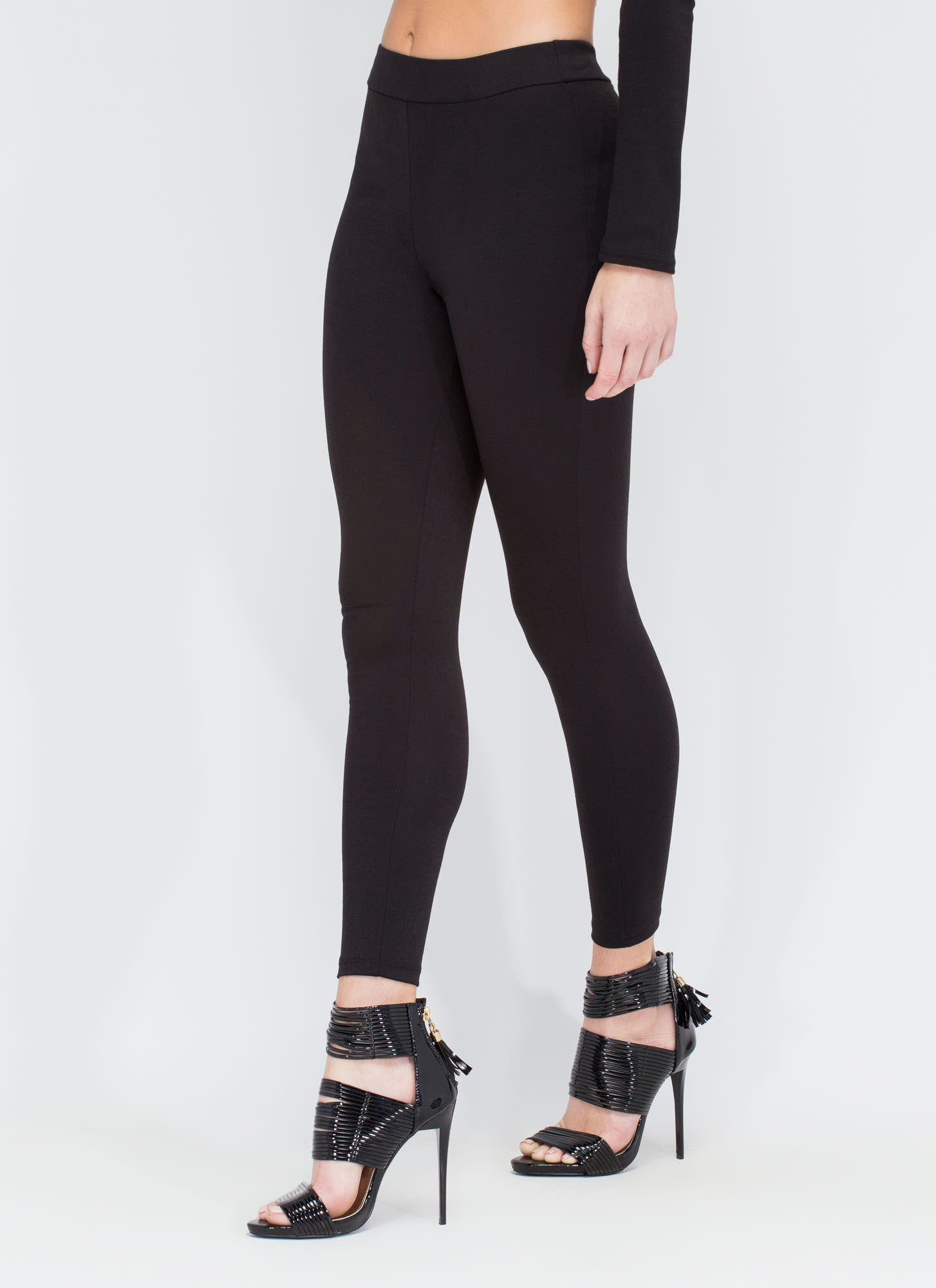 Effortless Take Pants BLACK