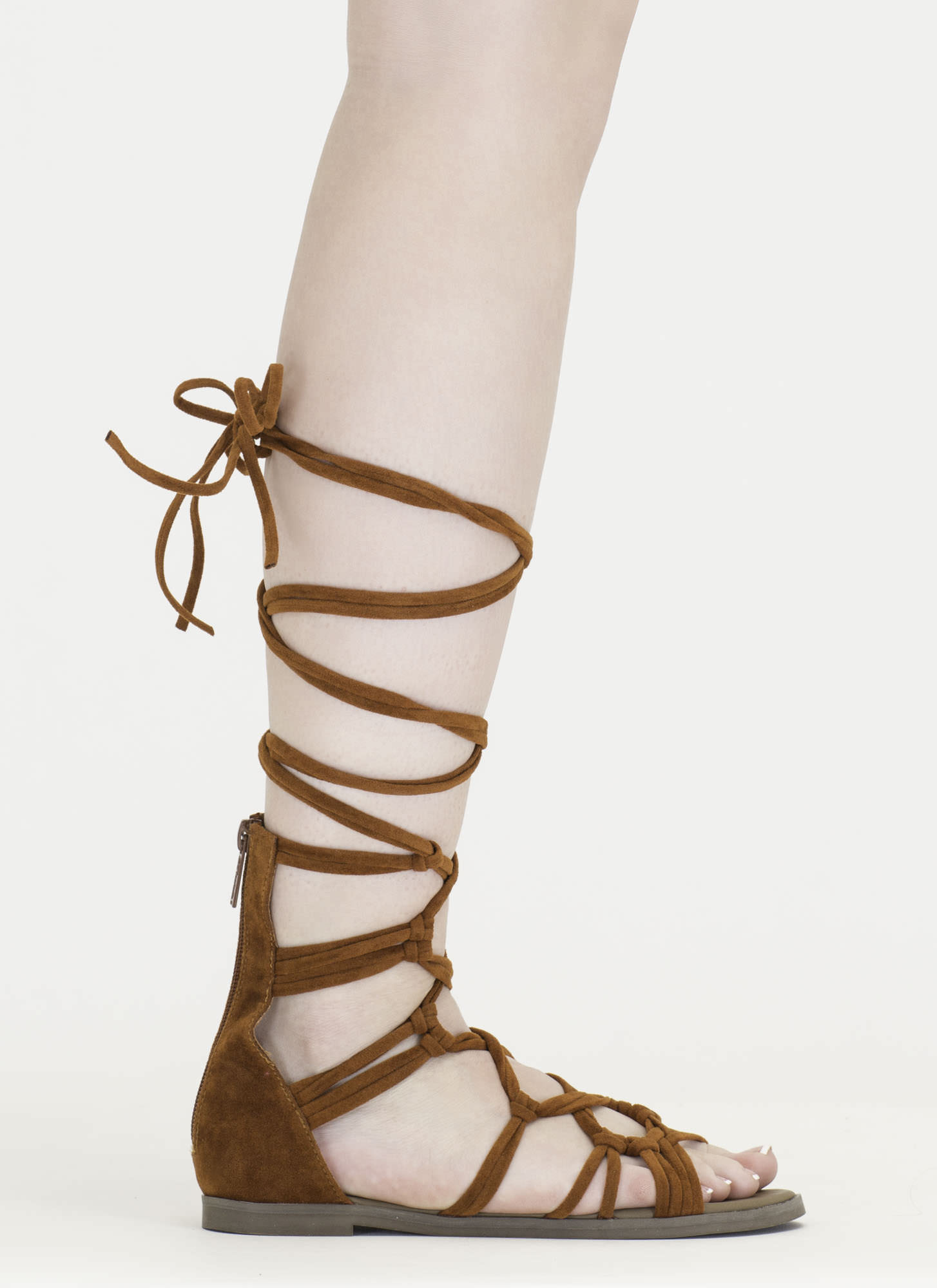 Knotty By Nature Gladiator Sandals CORAL