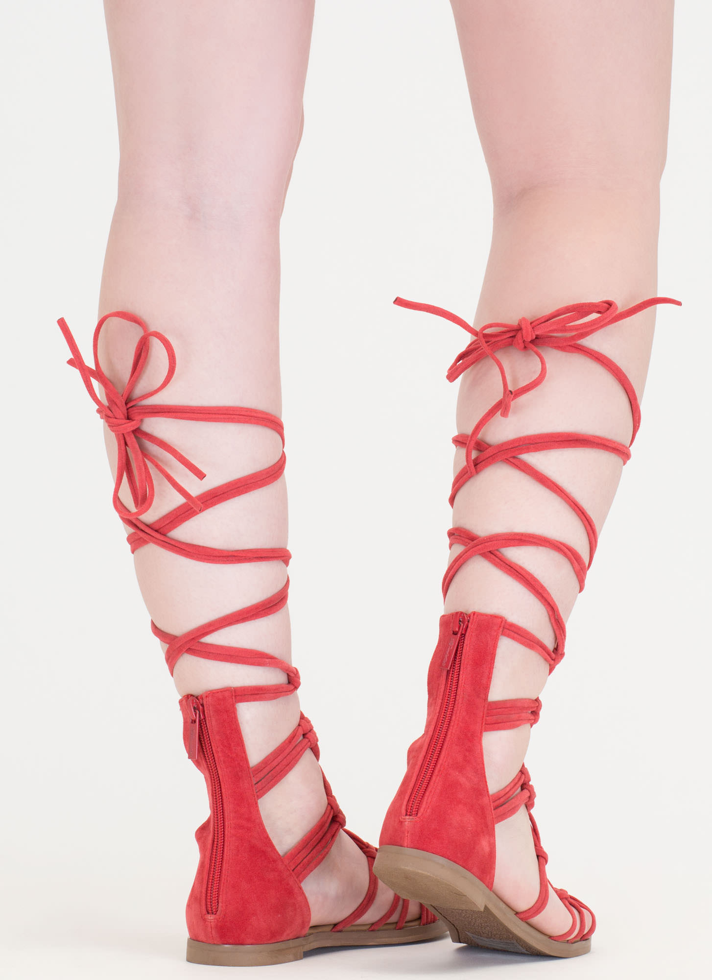 Knotty By Nature Gladiator Sandals HONEYSUCKLE