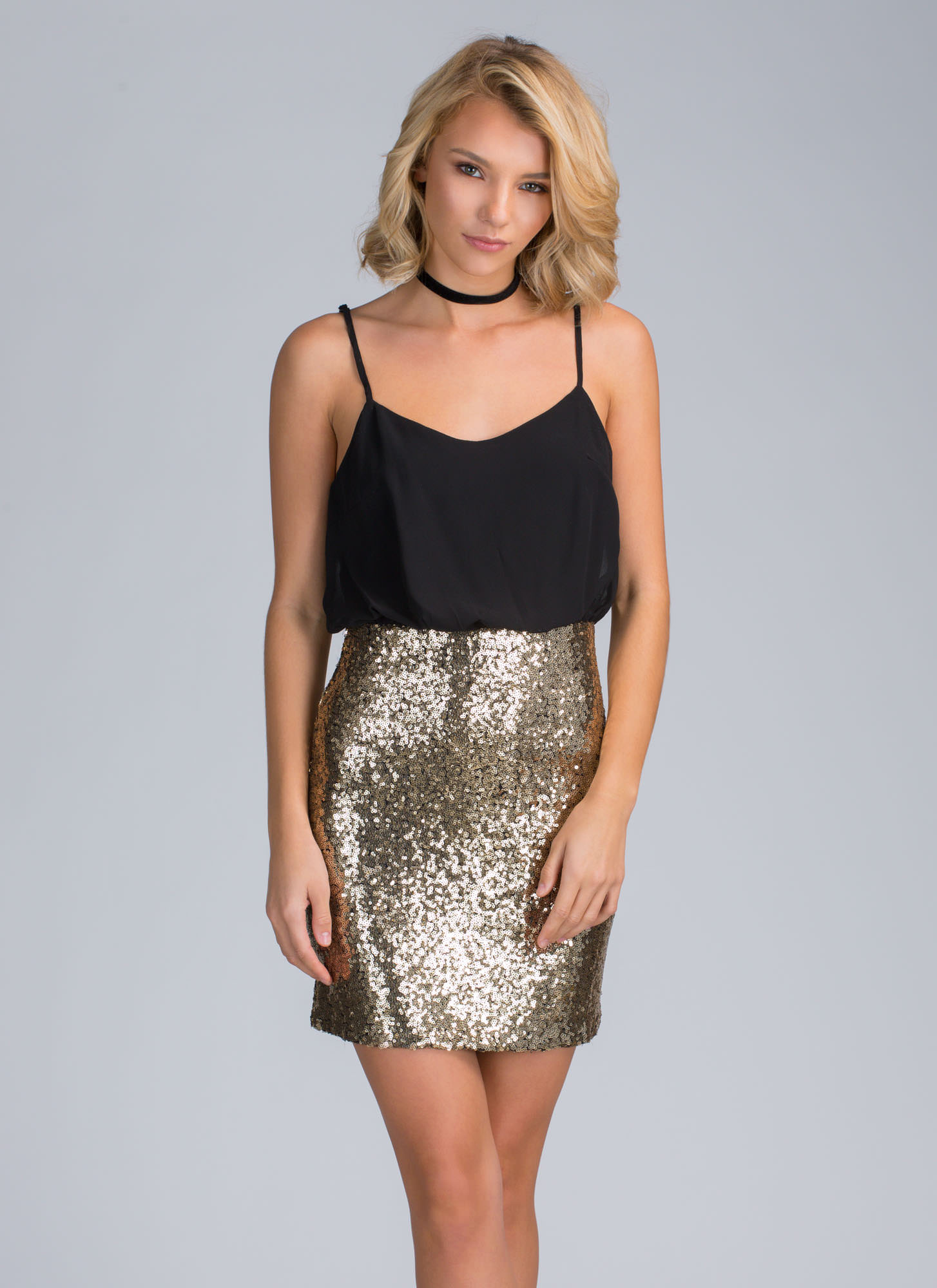 Sequin Mini Dresses