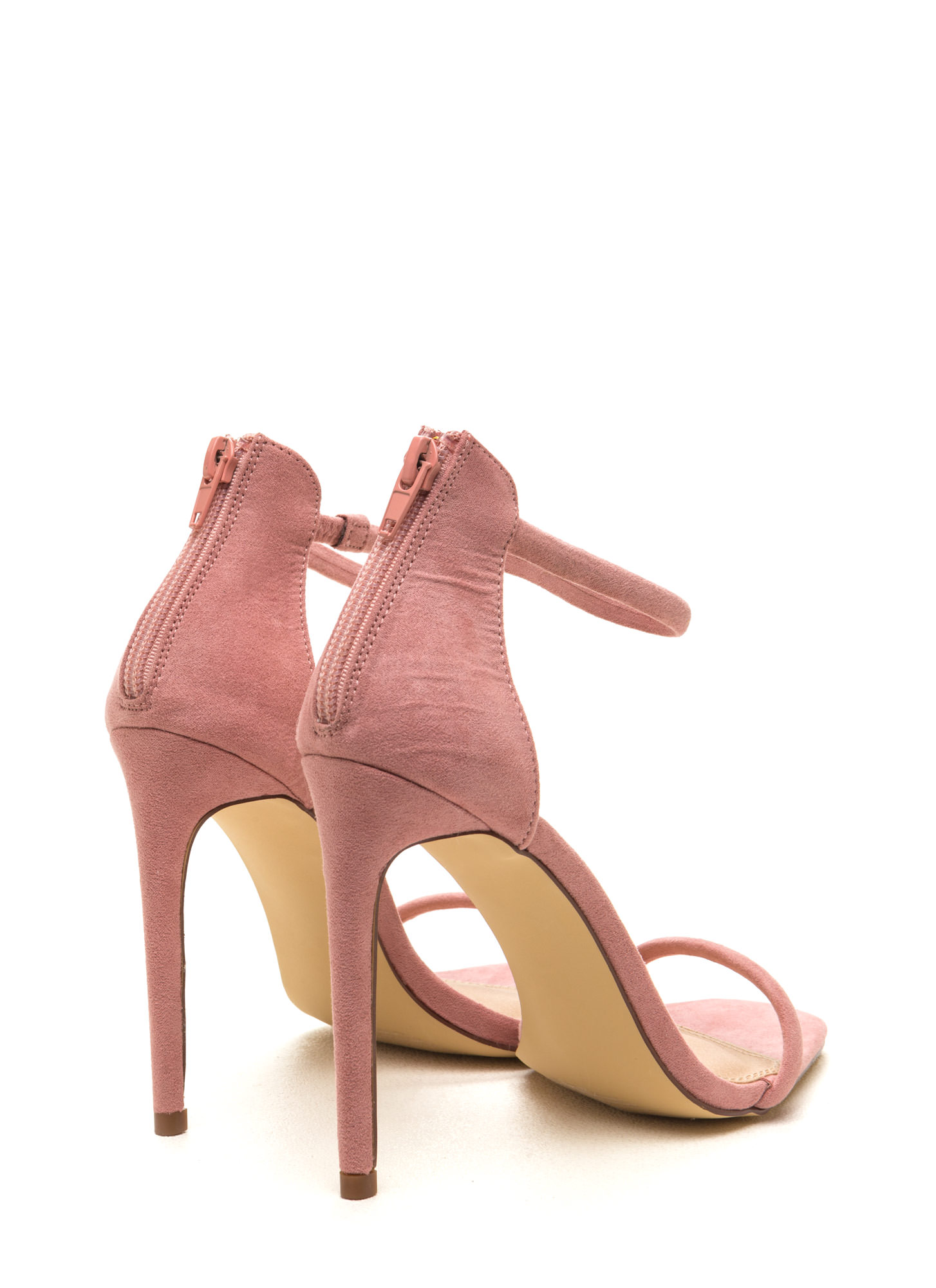 Pink Ankle Strap Heels - Is Heel